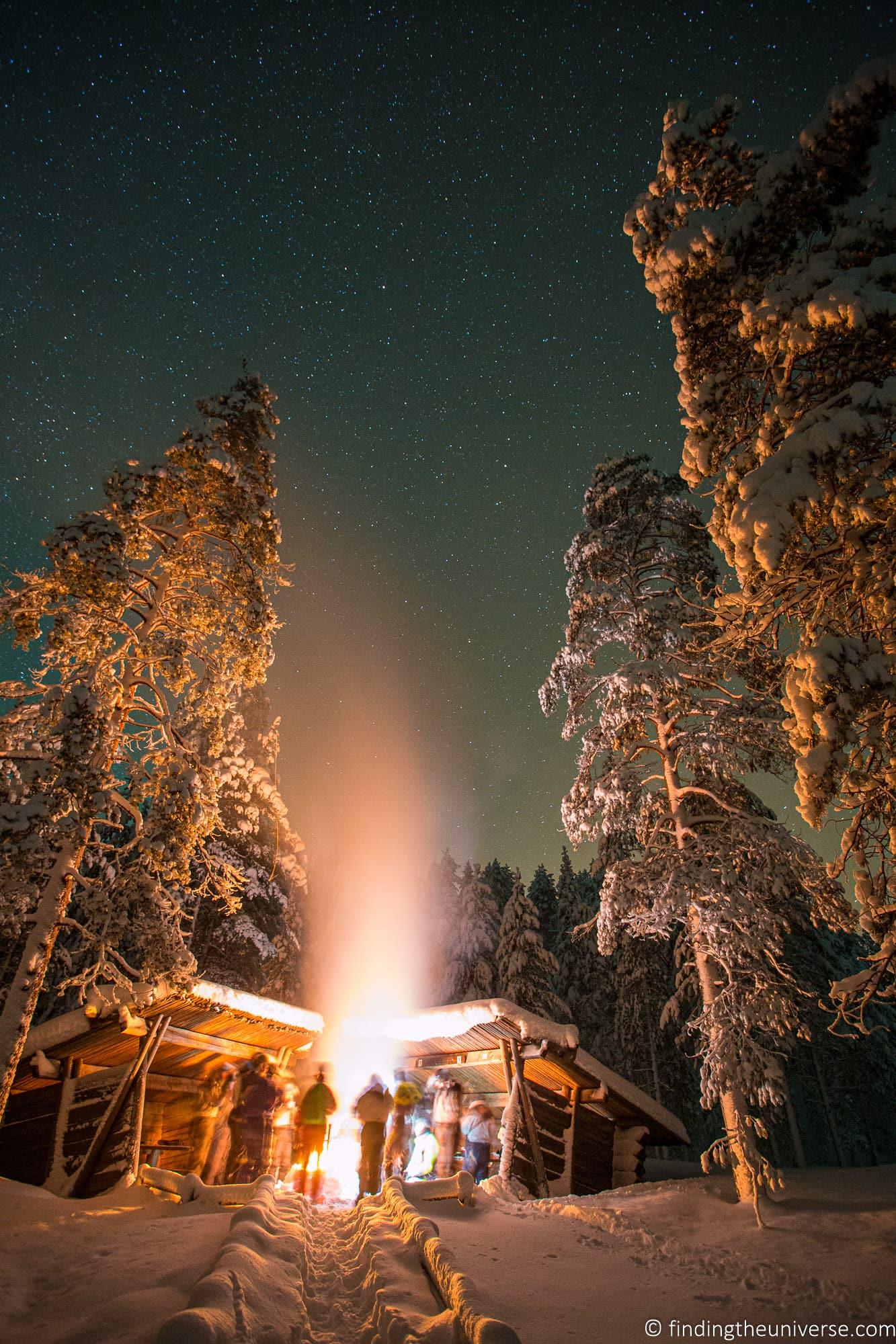 Winter activities Finland