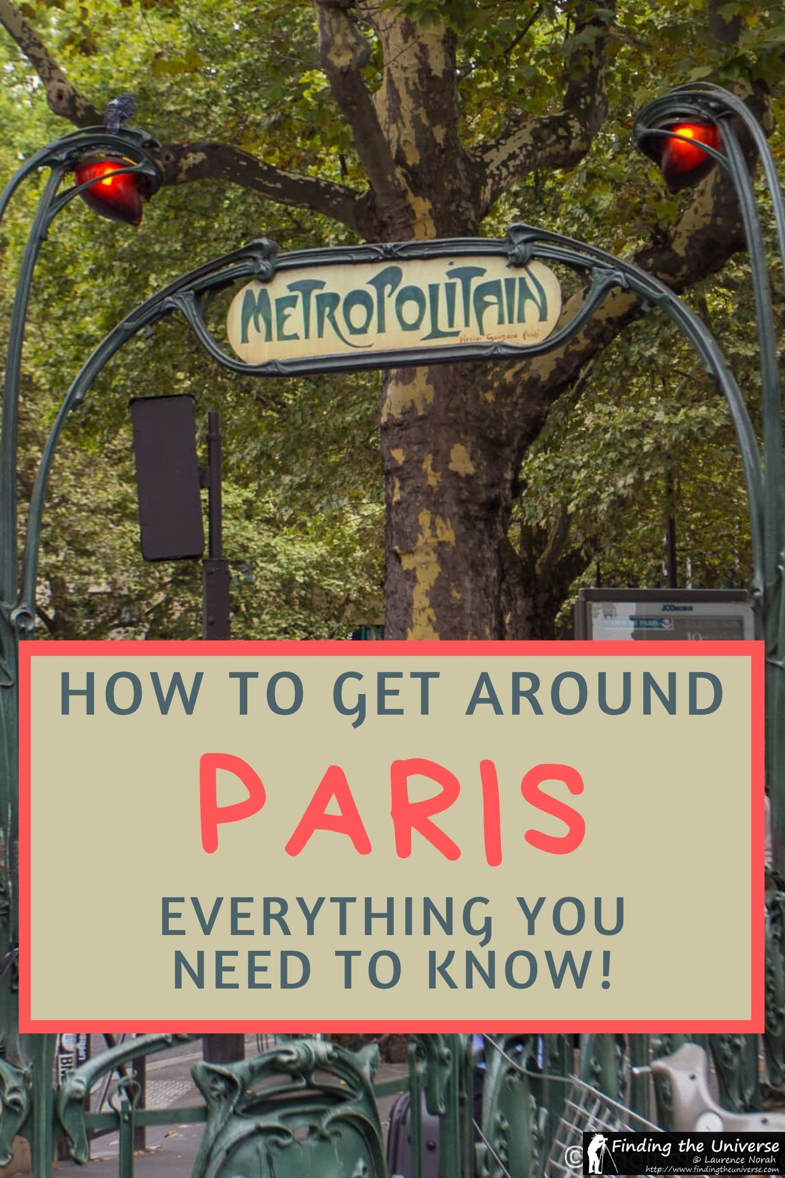 A detailed guide to how to get around Paris, including all the public and private transport options in Paris. Covers metro, rail, bikes, car etc...