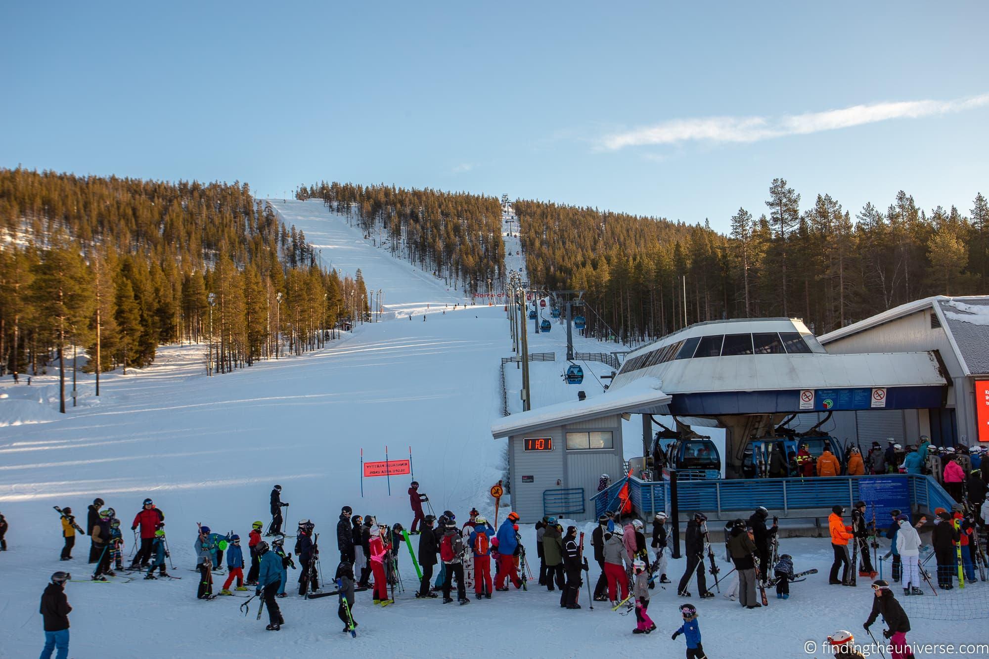 Levi Ski resort Finland