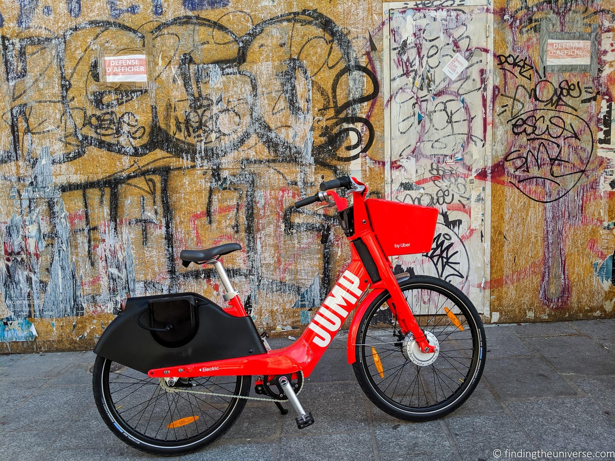 Paris electric bike