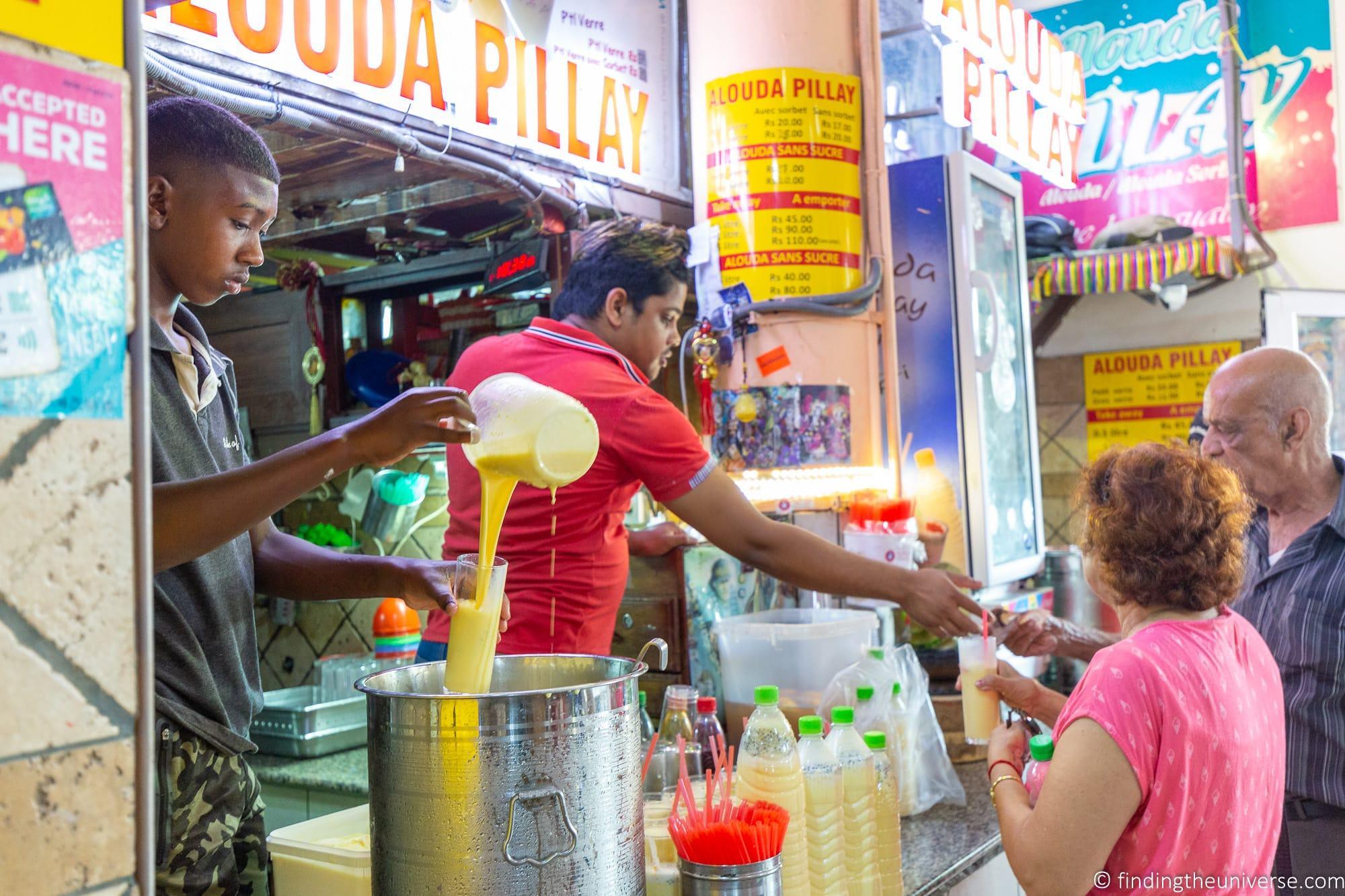 Alouda Pillay Mauritius Market