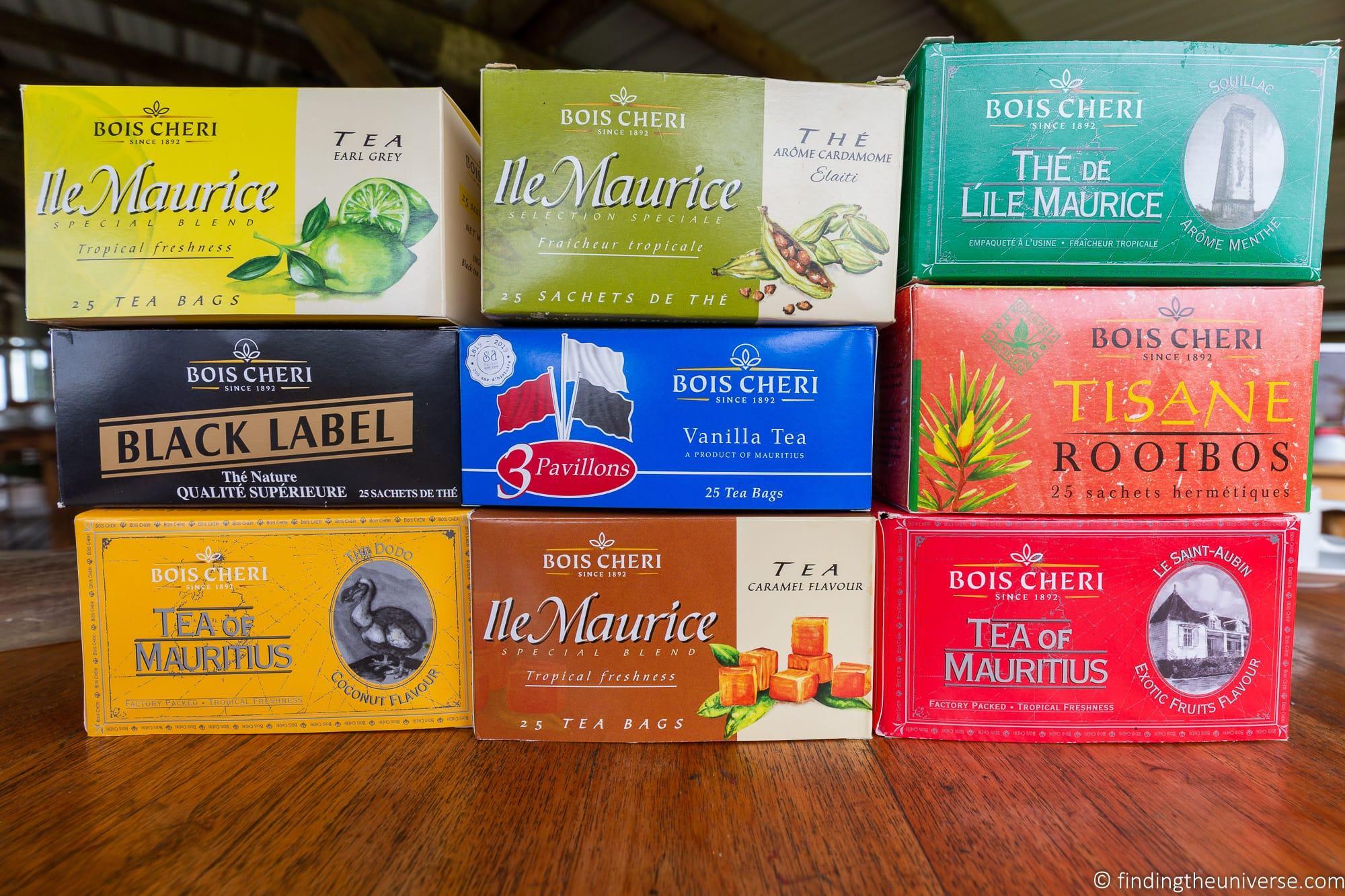 Bois Cheri Tea Mauritius