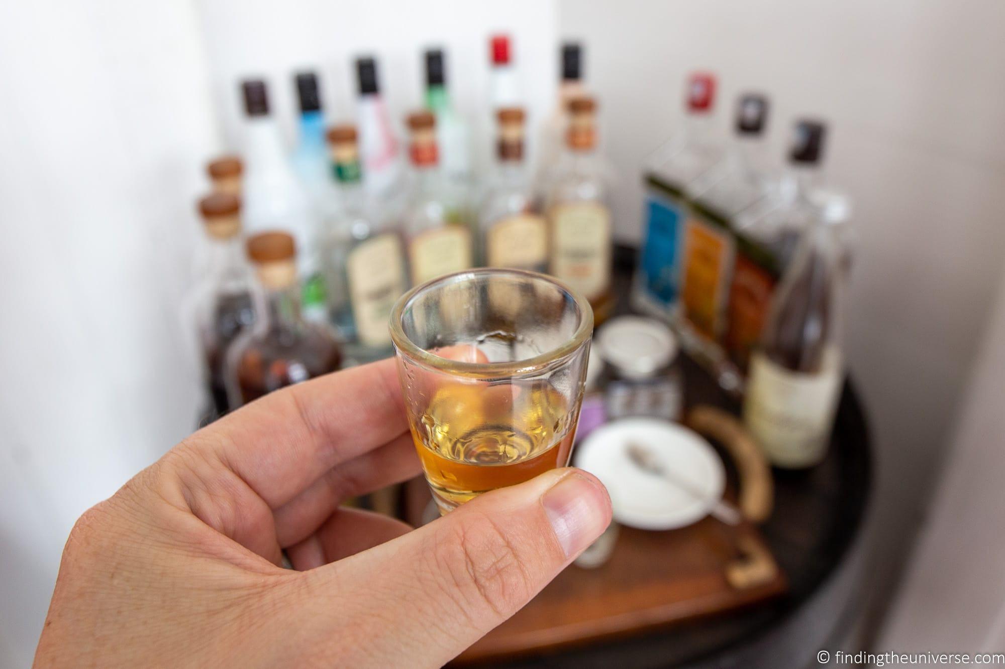 Rum tasting Mauritius