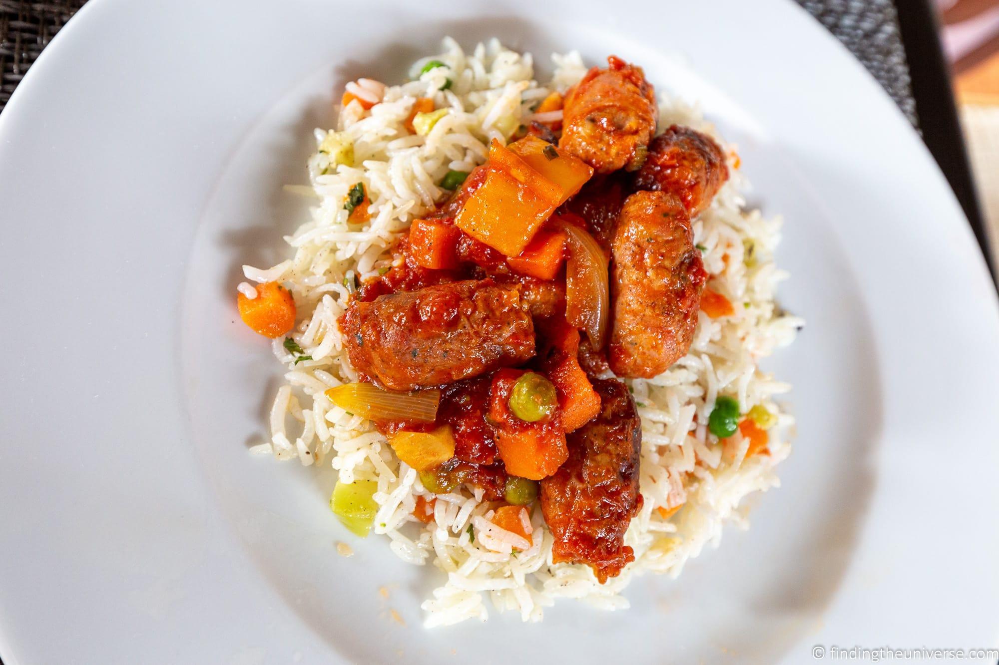 Sausage Rougaille Mauritius