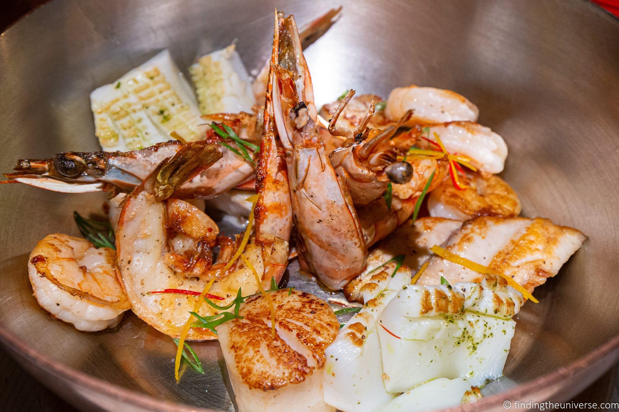 Seafood restaurant La Barachois Mauritius