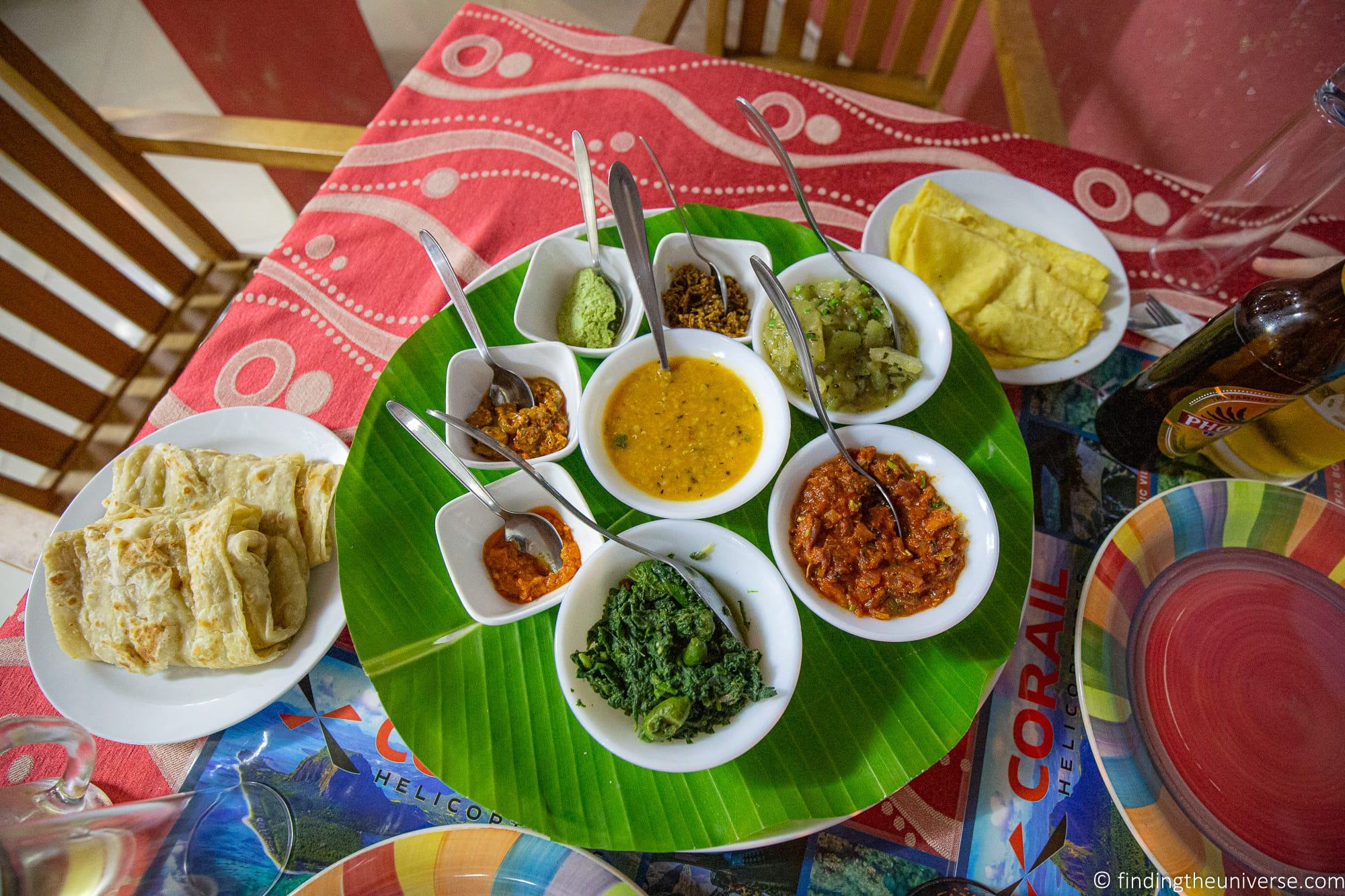 Traditional Mauritian feast Seabell restaurant Mauritius