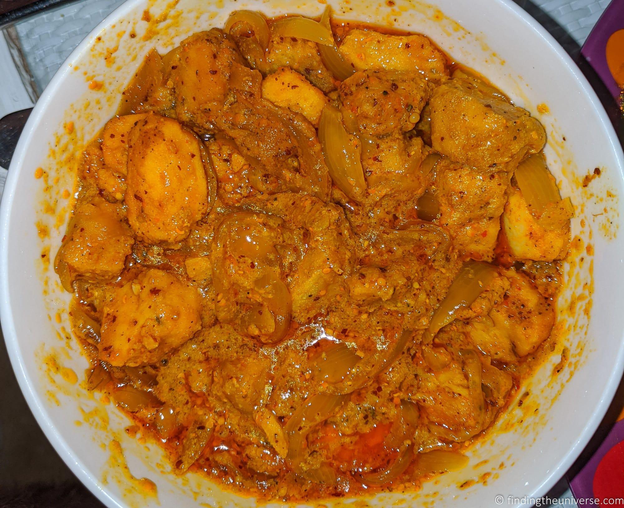 Vindaye Curry Mauritius