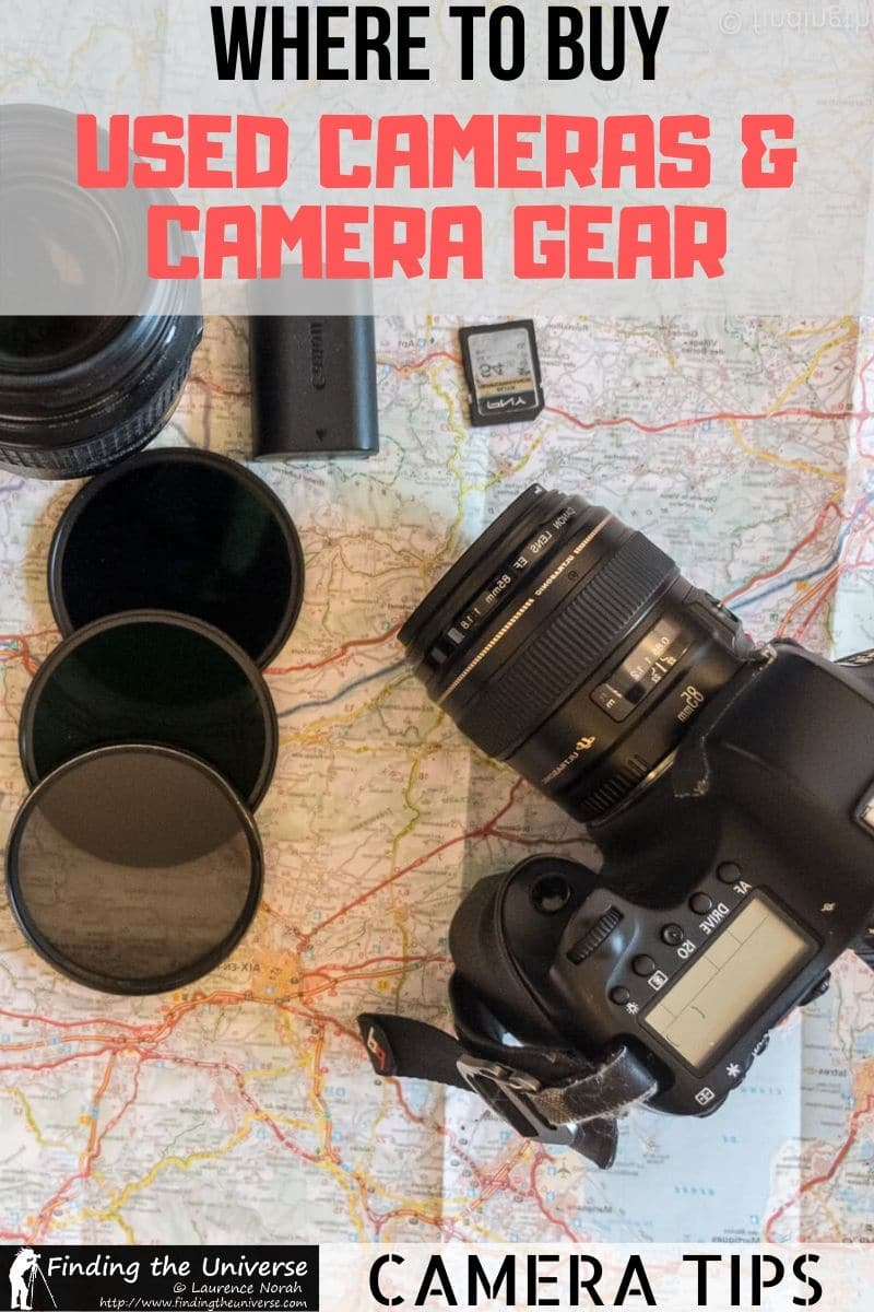 A detailed guide to buying used cameras and camera gear. Includes what to look out for when buying used cameras, as well as where to buy used cameras