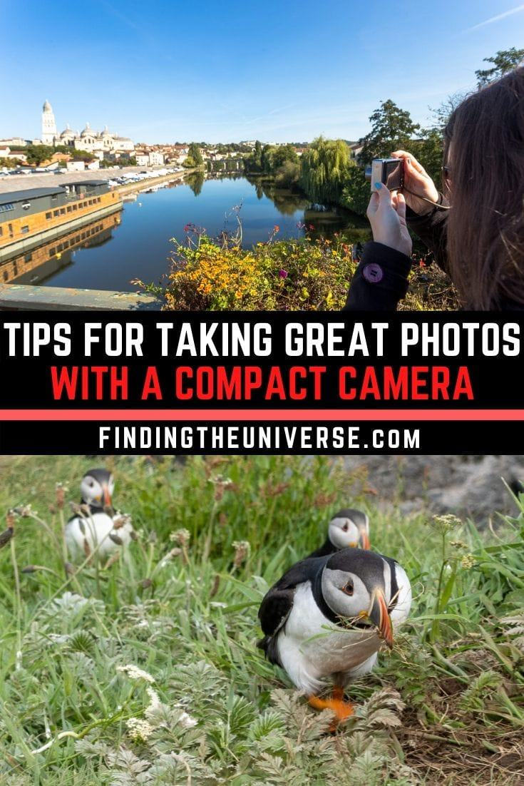 A detailed guide to using a point and shoot camera. Detailed info on the interface & buttons available + tips for taking great photos with a compact camera