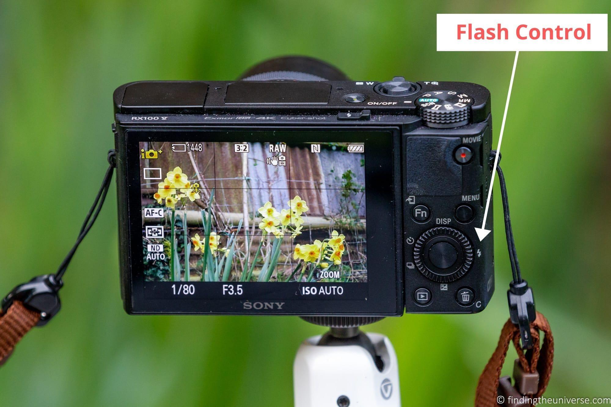 Flash Control Compact Camera