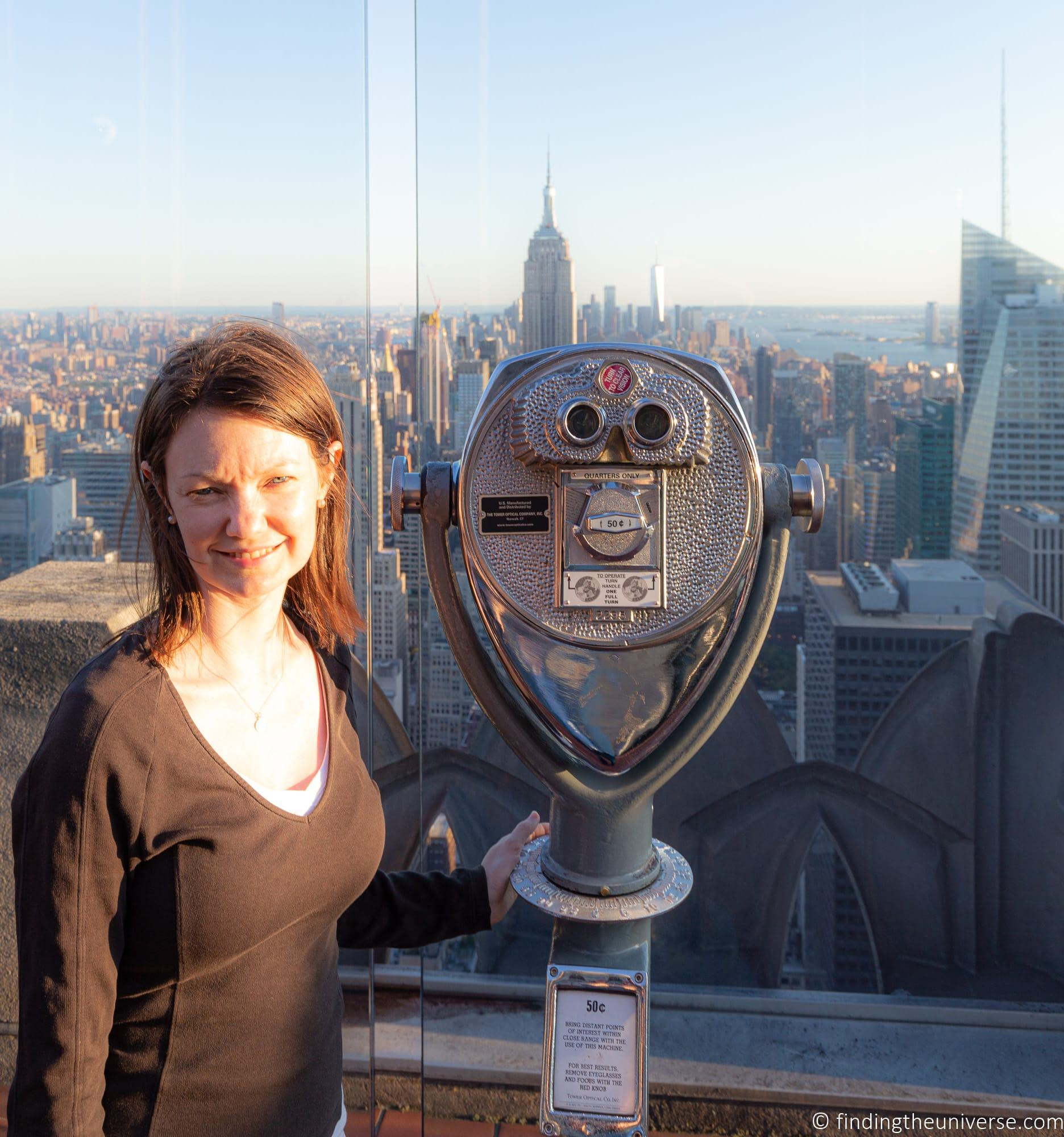 Top of the Rock Rockefeller Centre New York Itinerary