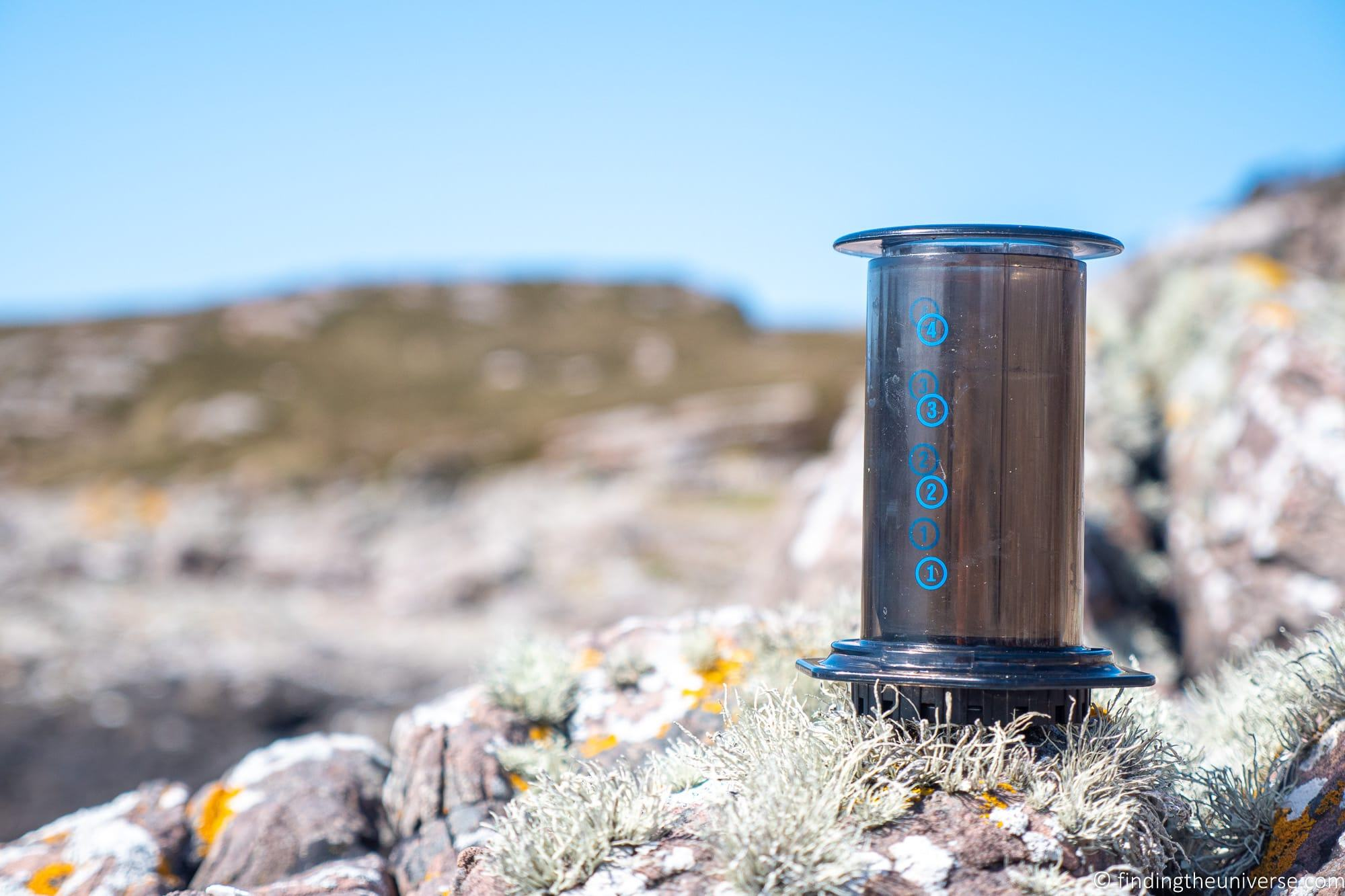 AeroPress Travel Coffee Maker