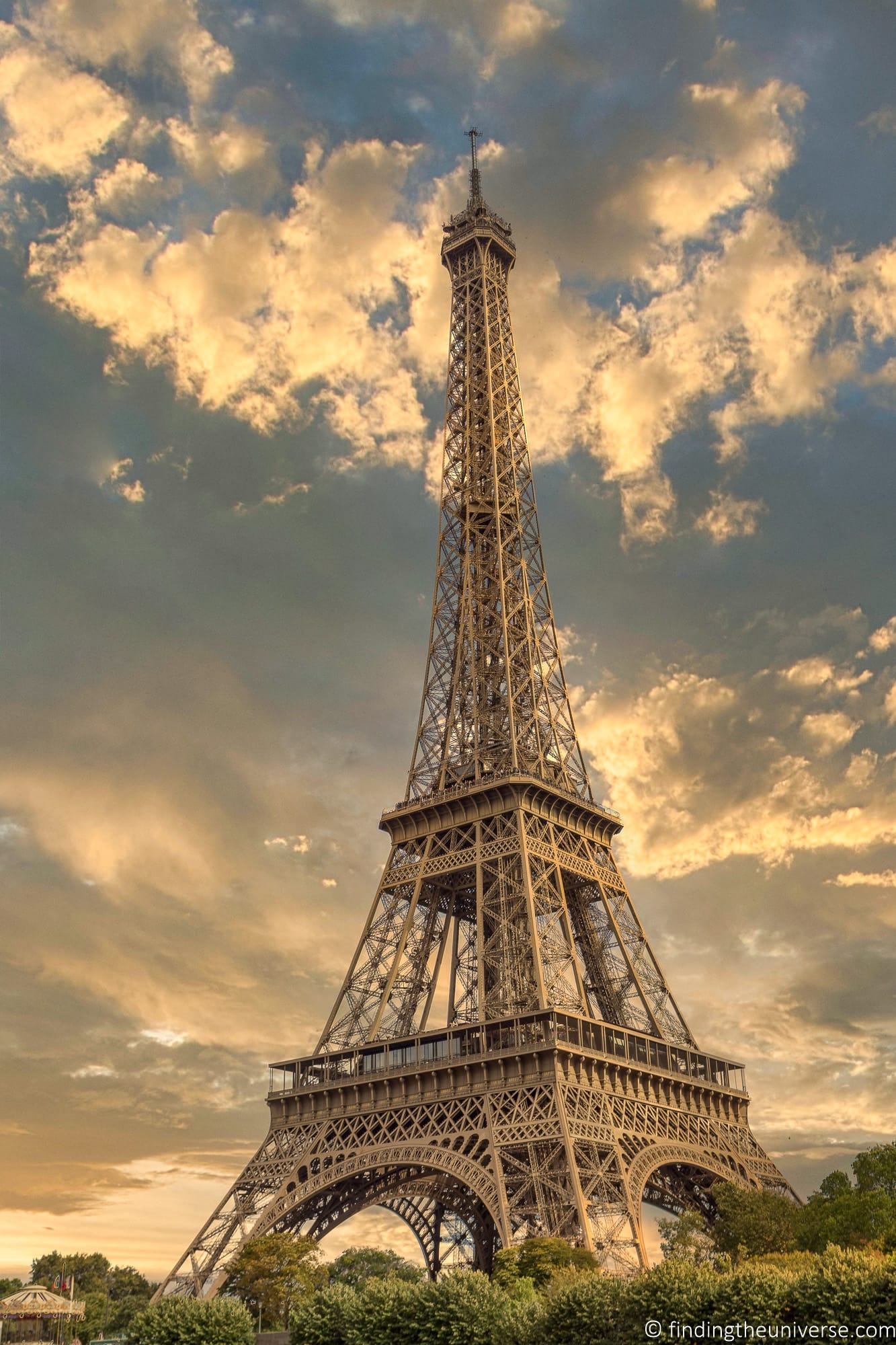 Eiffel Tower Sky replacement