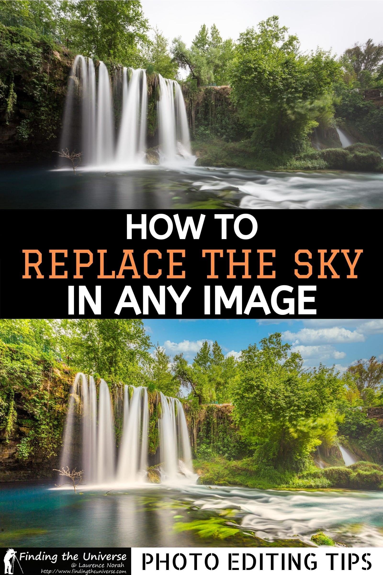 A five minute process for replacing the sky in any photo, no Photoshop required! Walks you through the whole sky replacement process from start to finish.