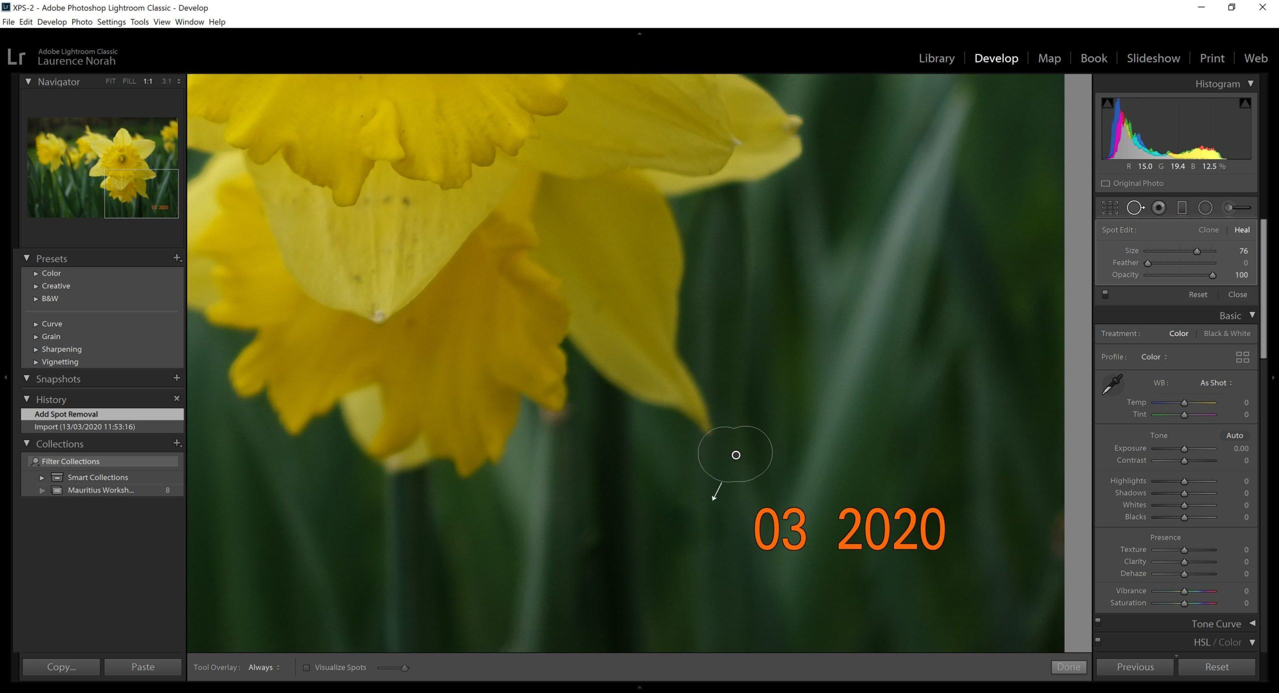 How to Add a Date Stamp to Your Photos
