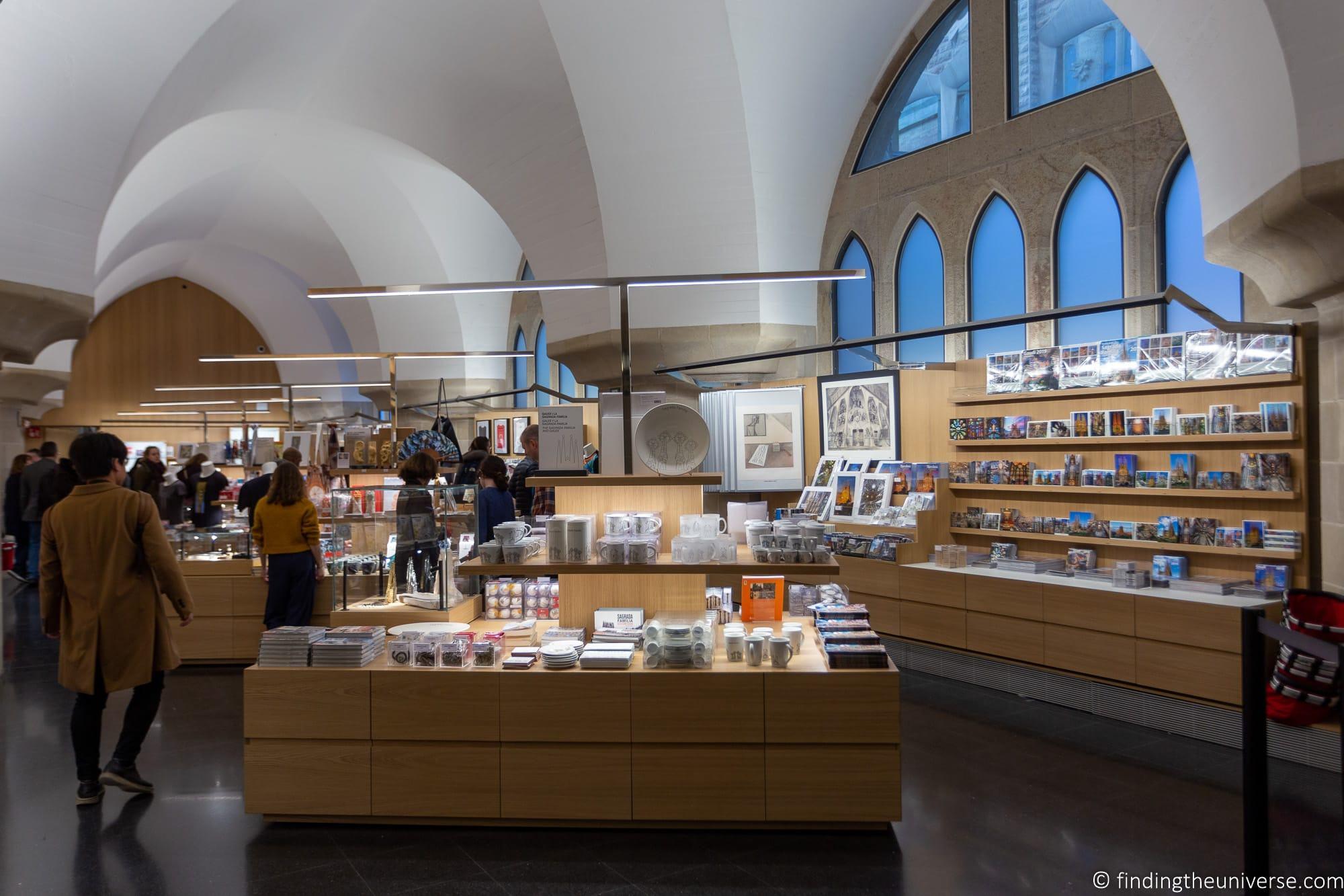Sagrada Familia Gift Shop