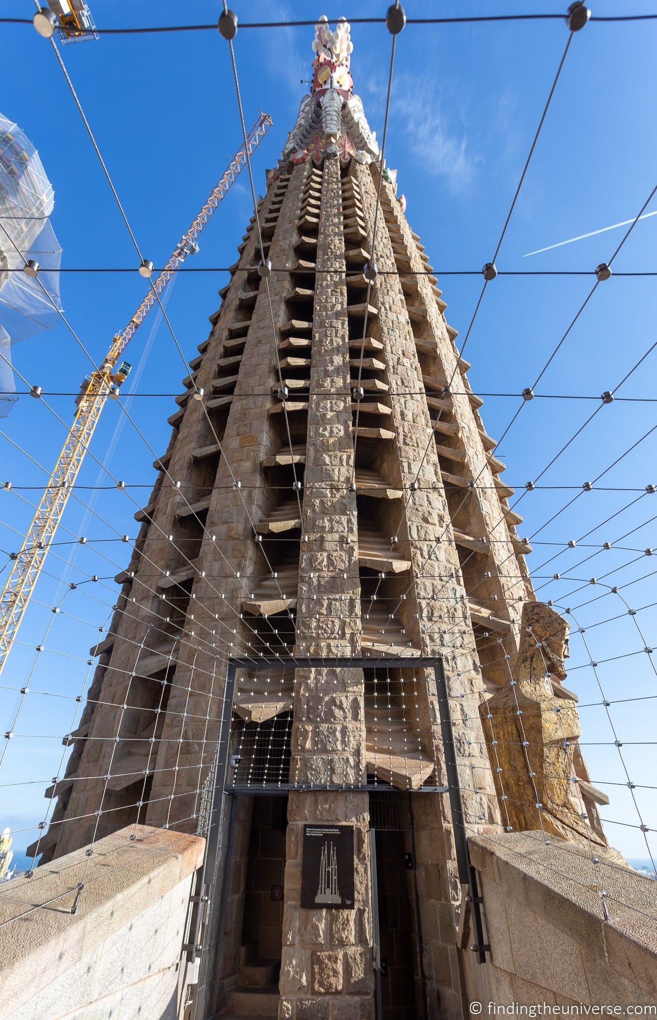 Sagrada Familia Passion Tower