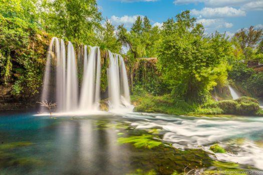 Sky replacement - Upper Duden Waterfall