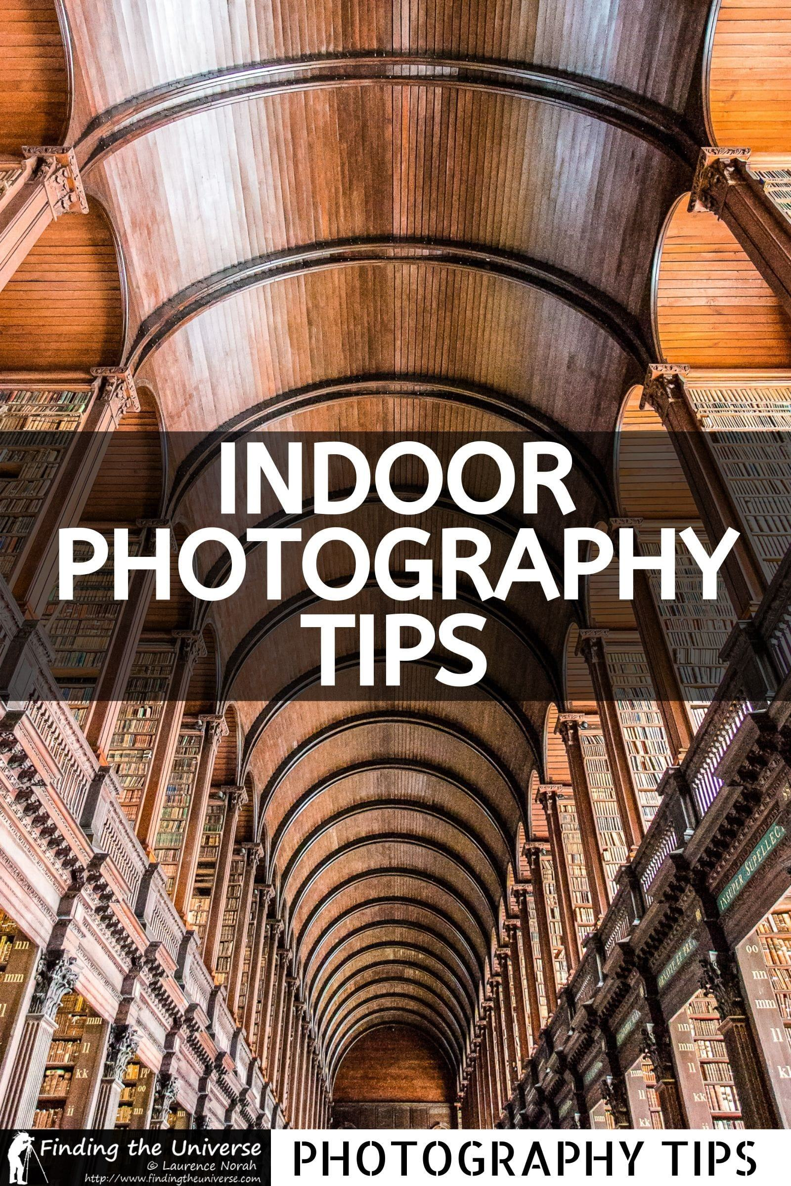 A detailed guide to indoor photography. Everything you need to know to get great photos inside, from the gear you need, to tips and tricks.