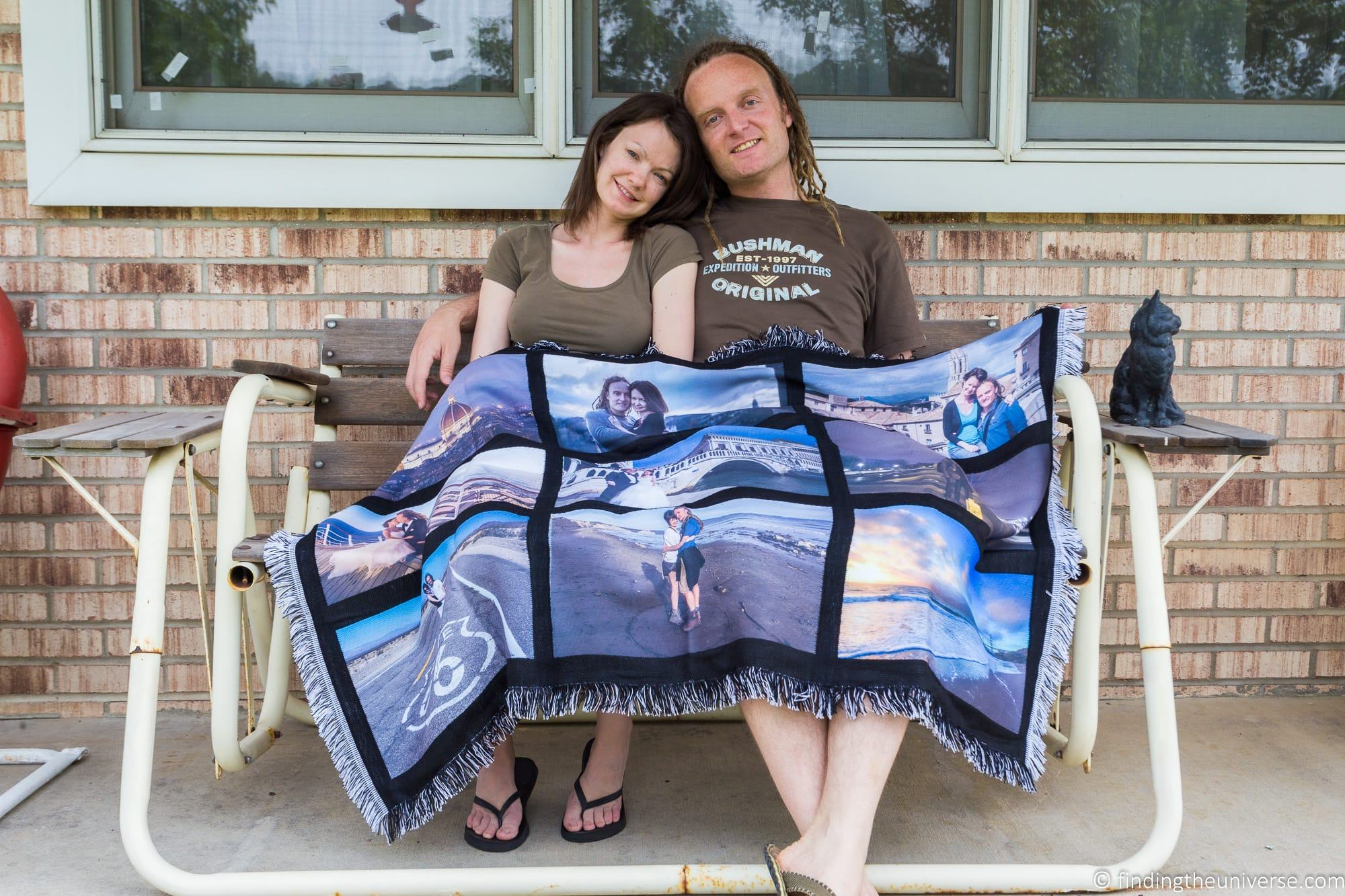 Laurence and Jess blanket