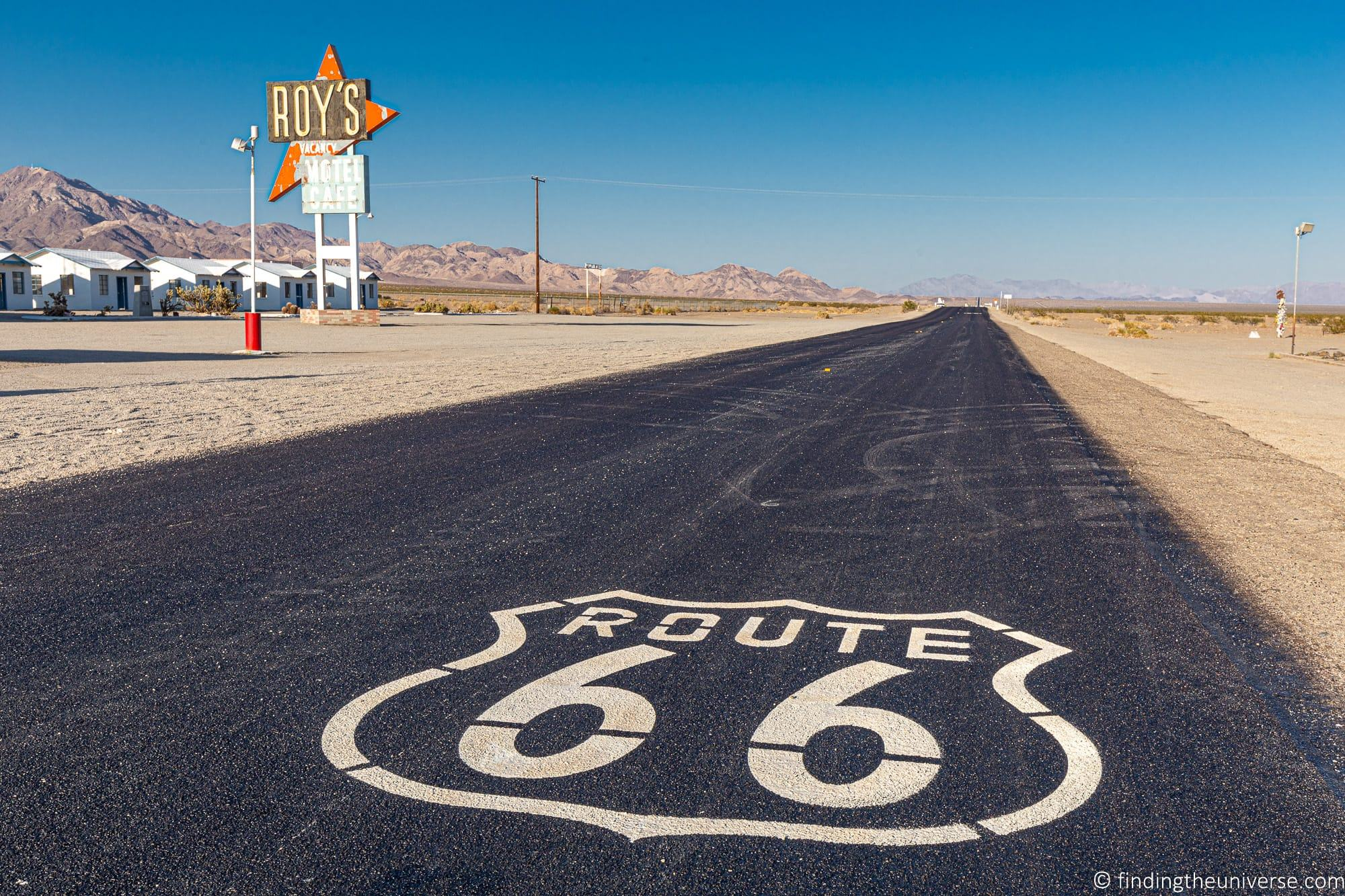 Roys Route 66 Amboy