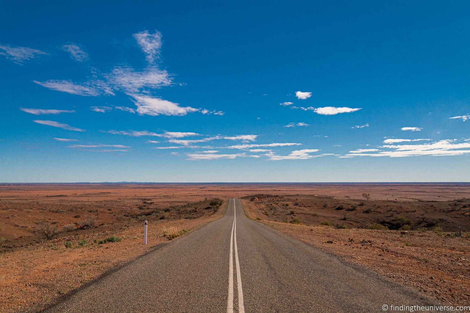 Scenery around Broken Hill Australia