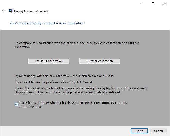 Windows Display Calibration 5