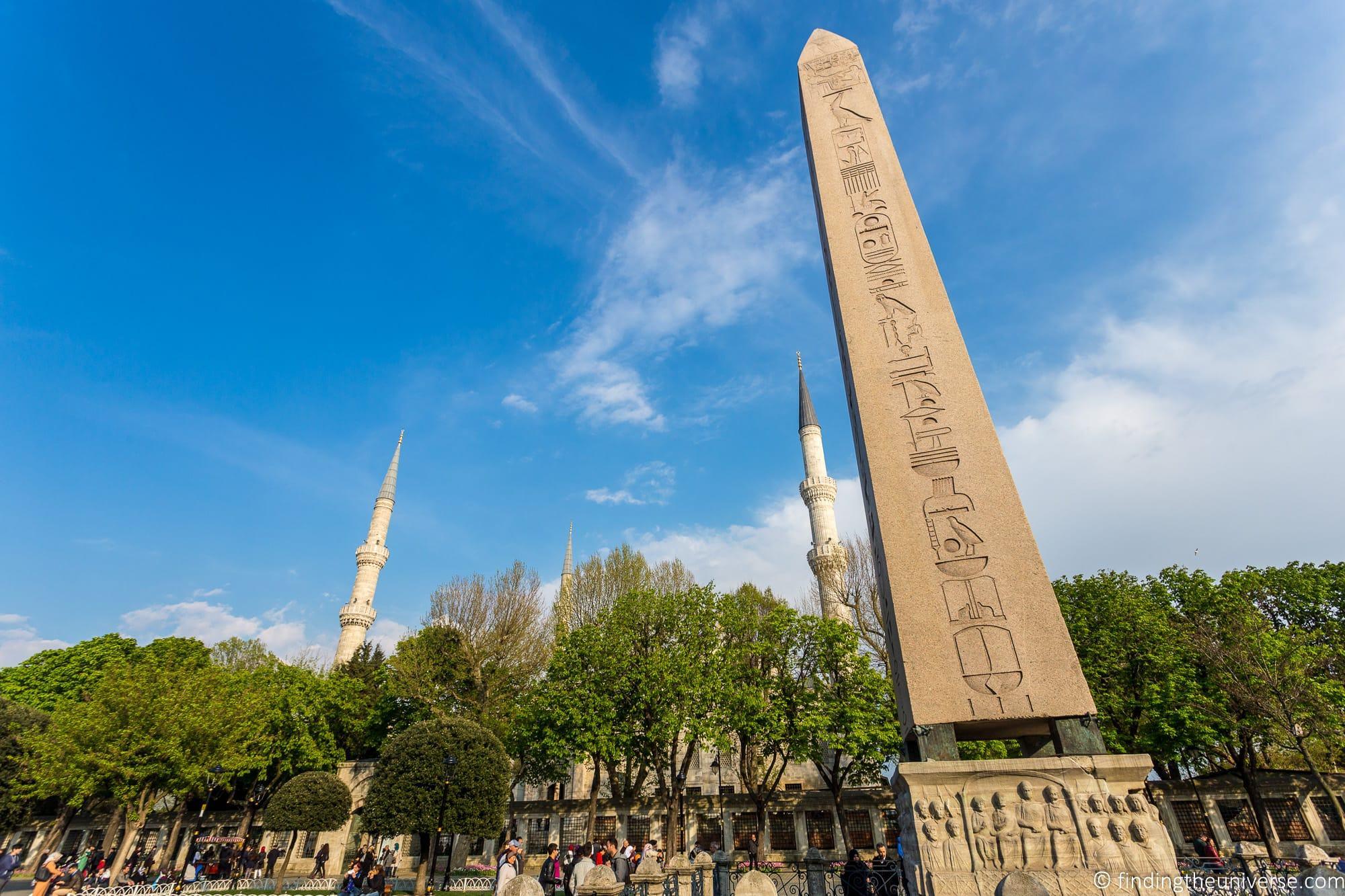 Obelisk of Thutmose III Istanbul