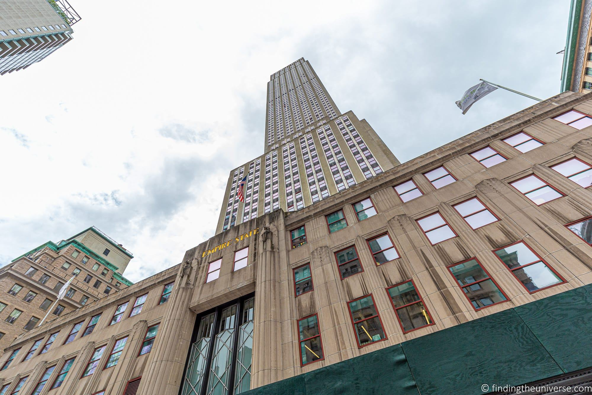 Empire State Building from ground level