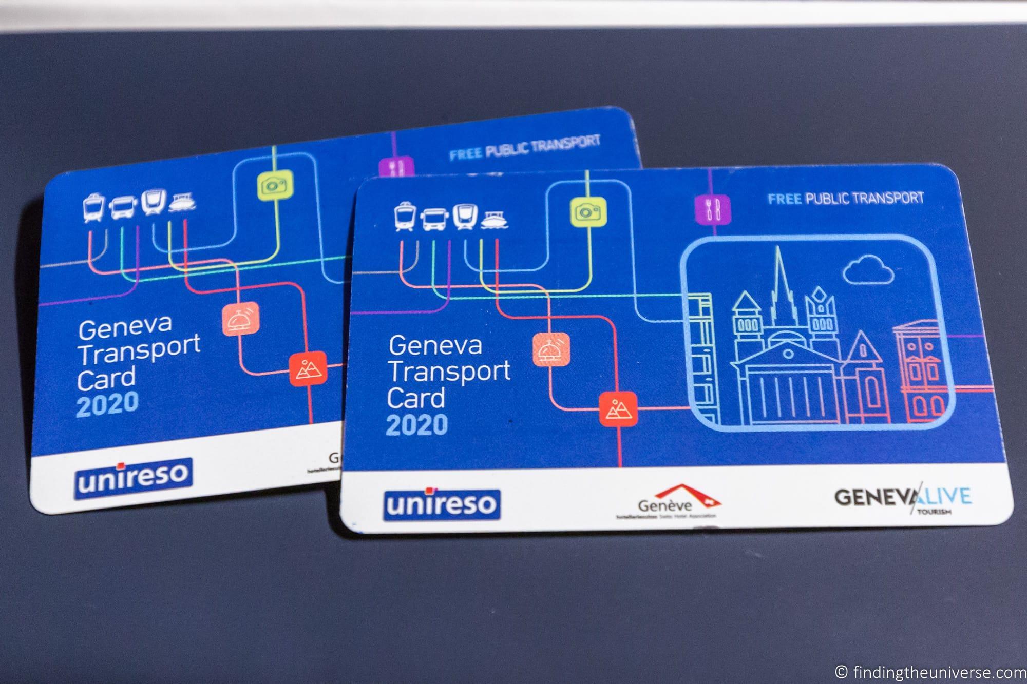 Geneva Transport Card