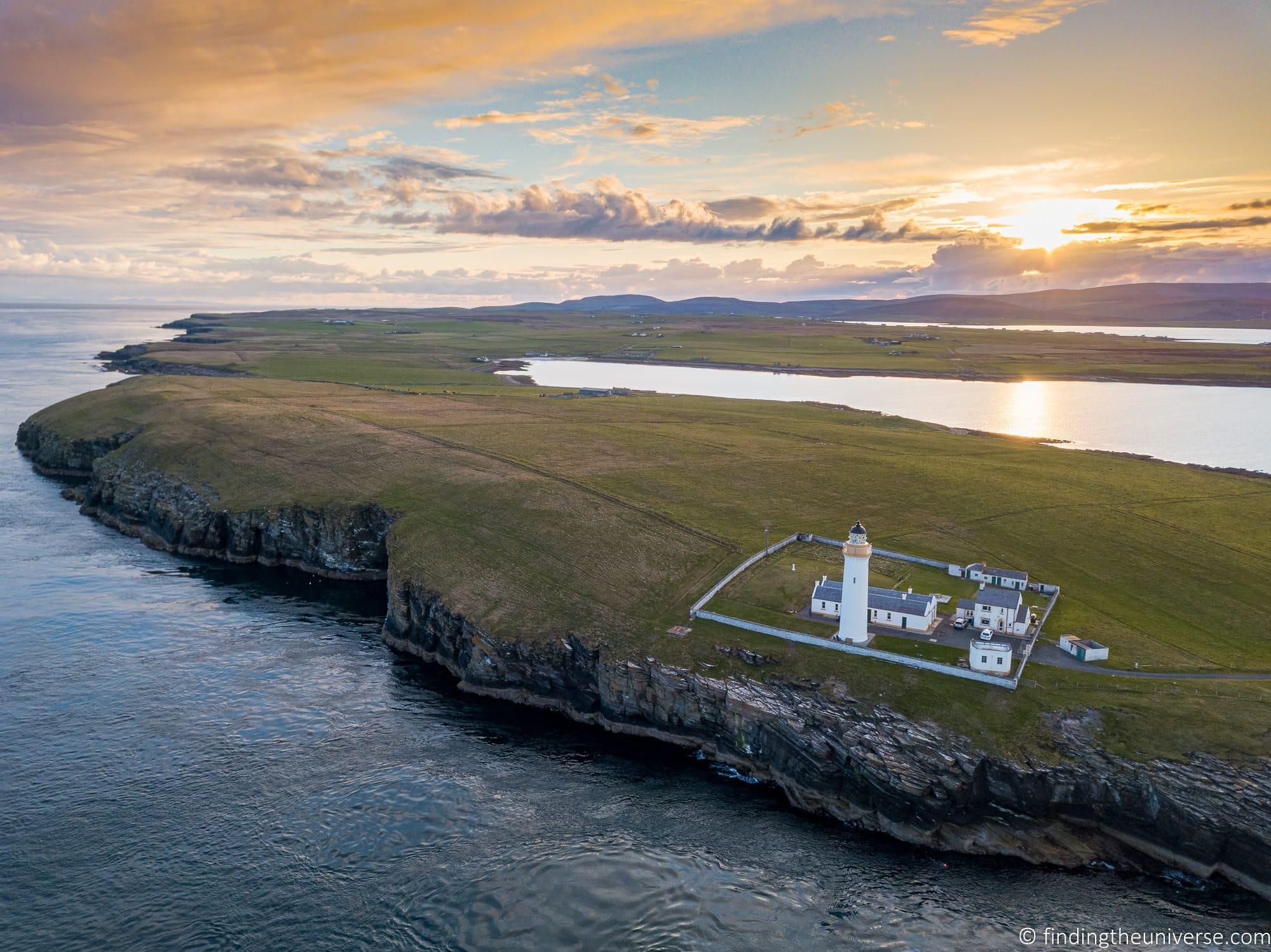 Lighthouse vacation rental Scotland