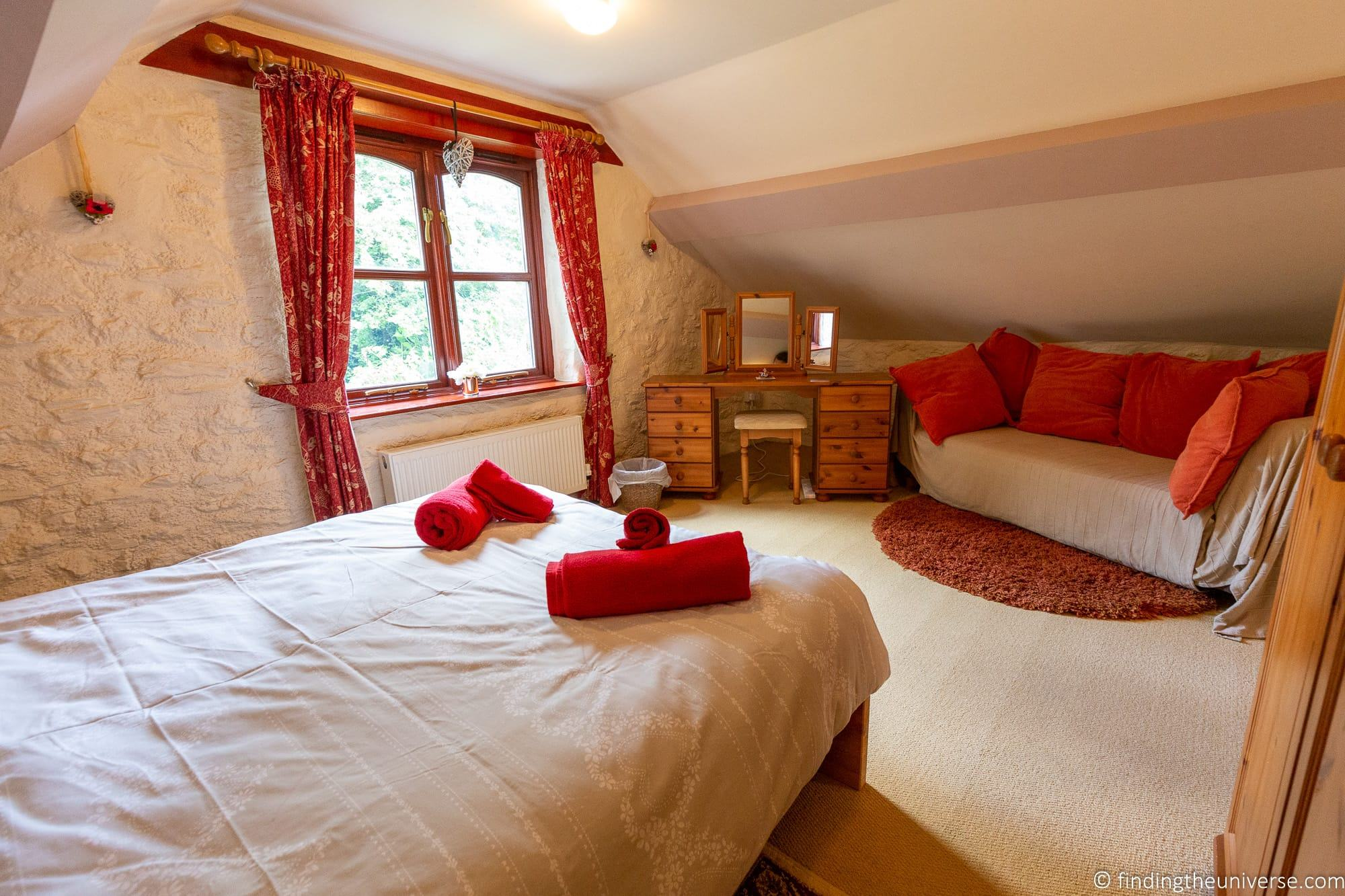 Vacation rental interior UK