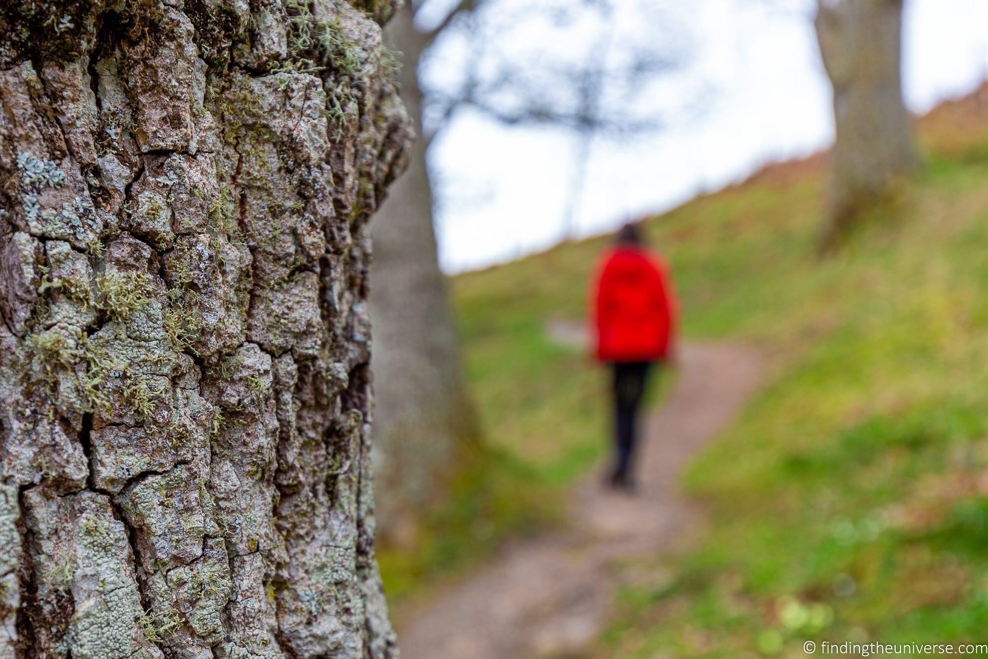 Hiking near Loch Ness
