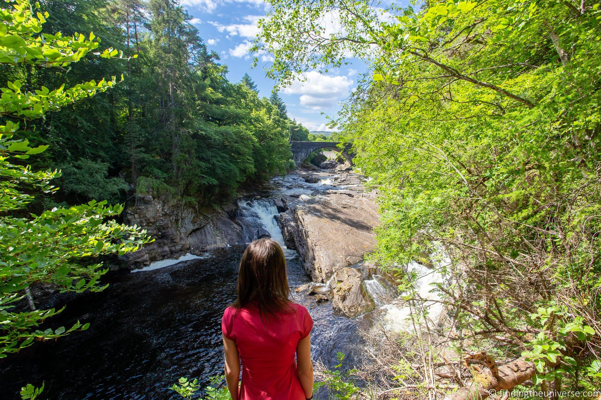 Invermoriston Falls Loch Ness