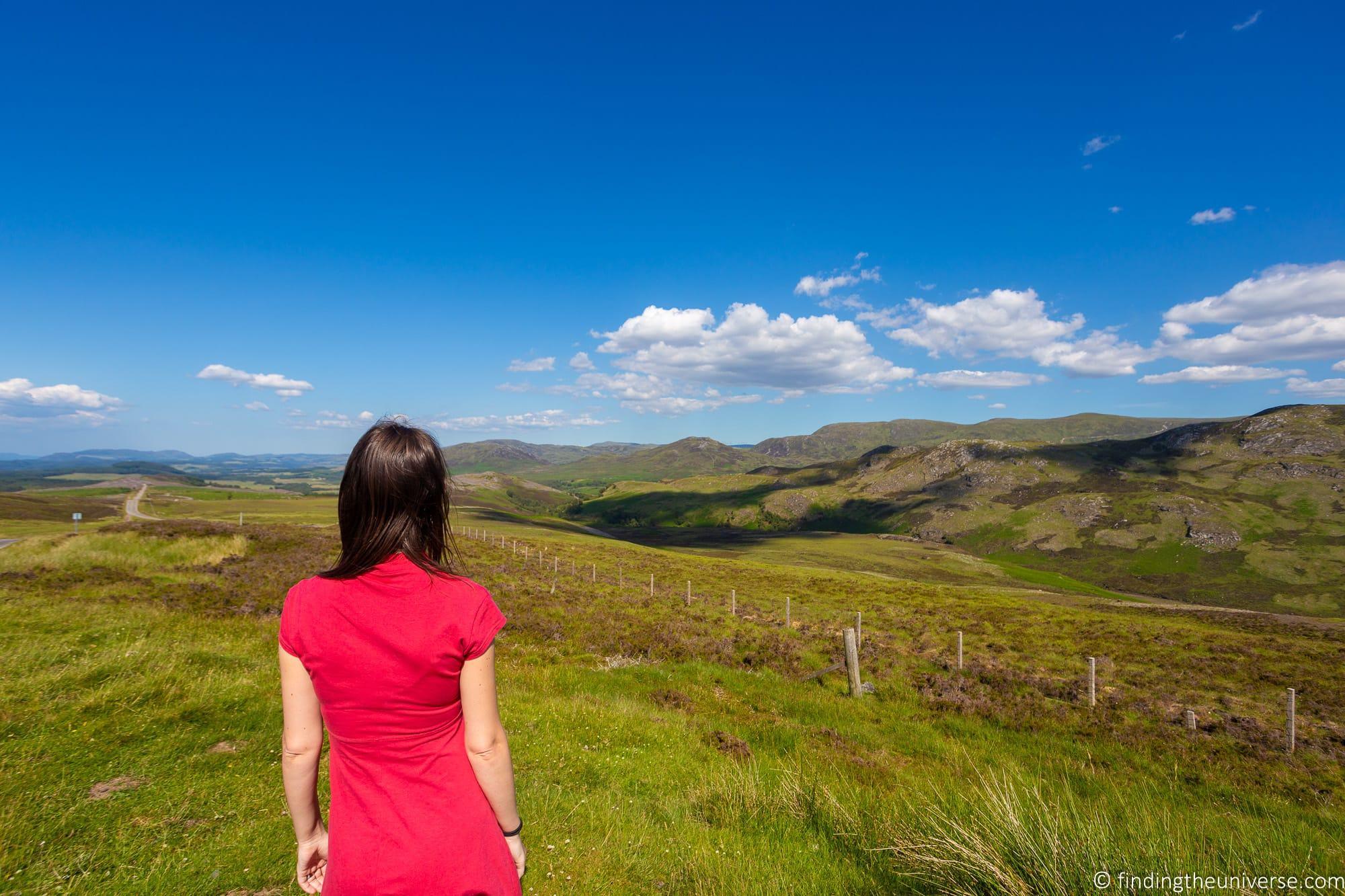 Landscapes near Loch Ness
