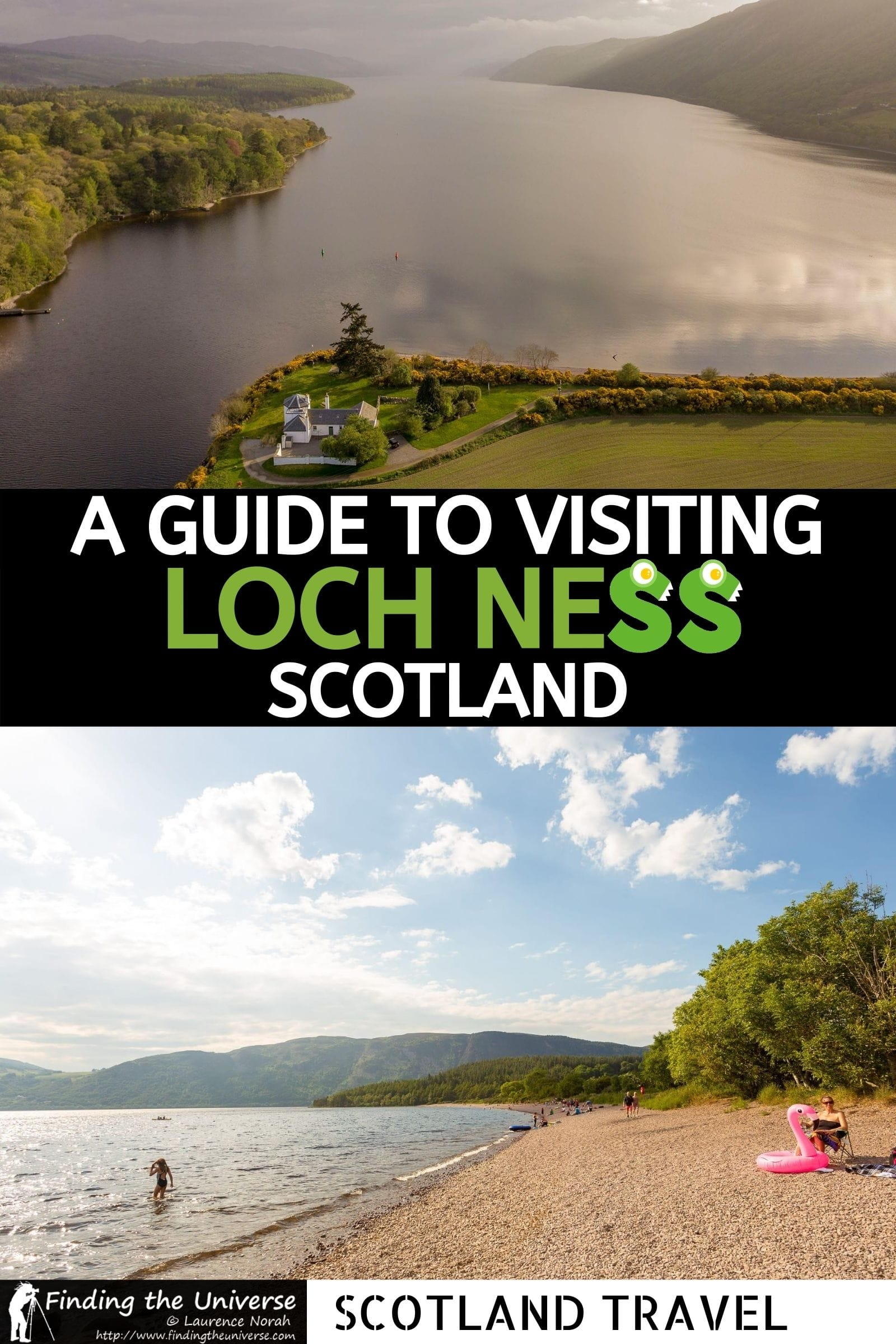 Detailed guide to visiting Loch Ness in Scotland. What to see at Loch Ness, how to get here, the best tours and where to stay!