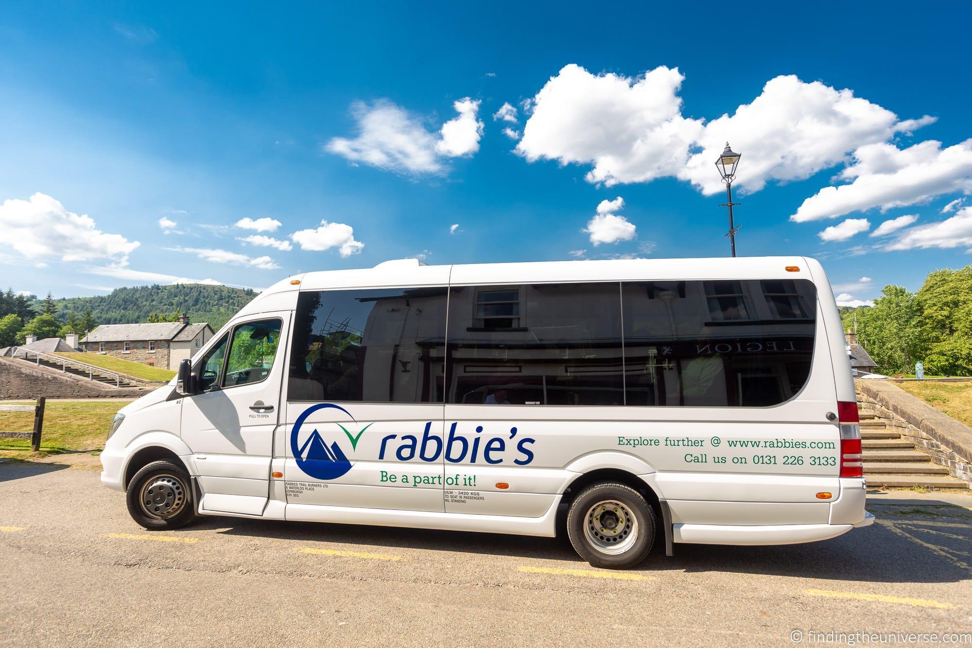 Rabbies Tour Bus