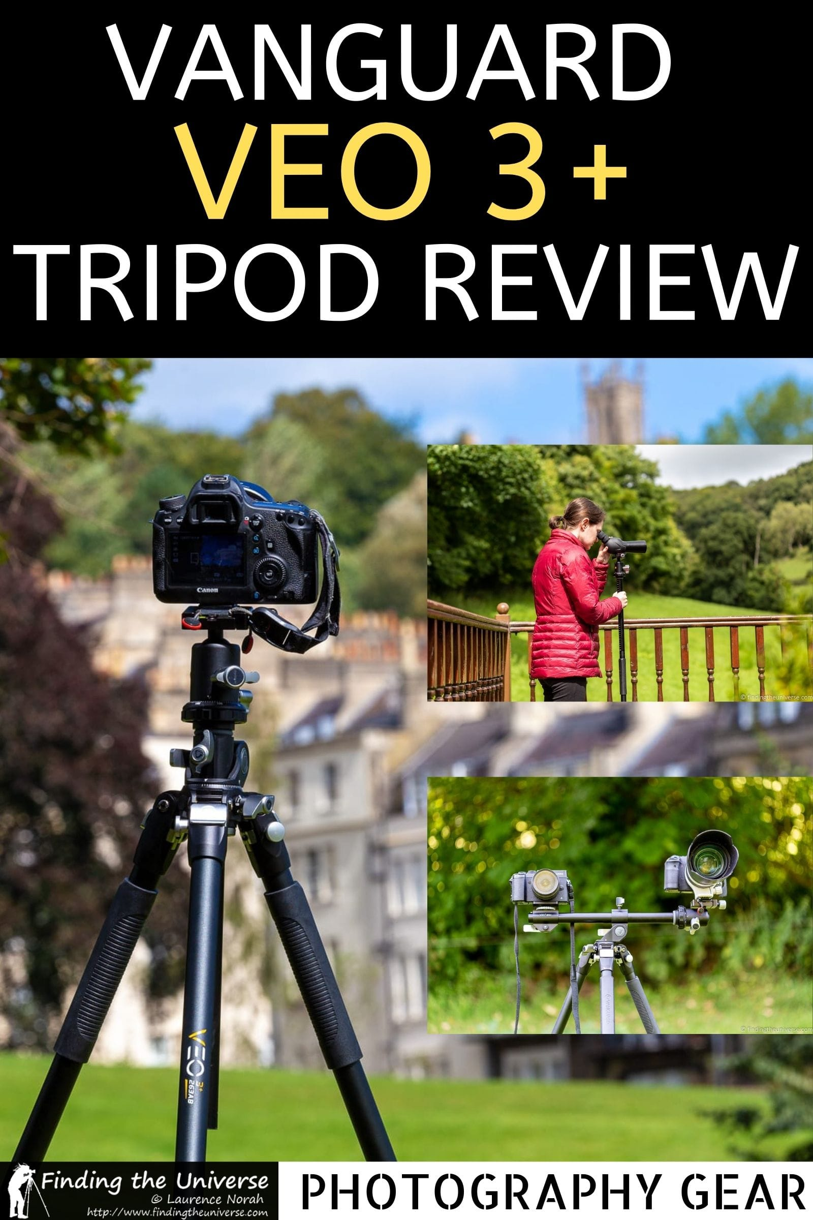 A detailed review of the Vanguard VEO 3+ 263AB Tripod Review. Key features, what's good about the tripod and who it's for.