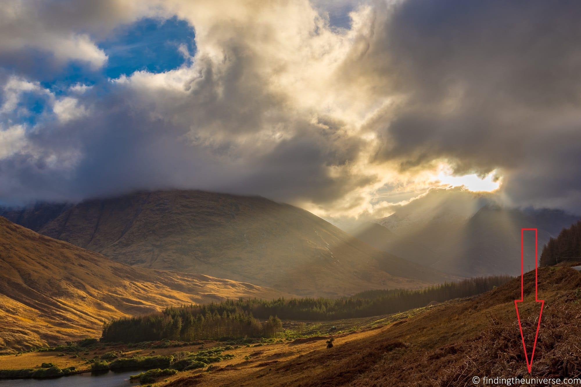 Glen Etive scenery