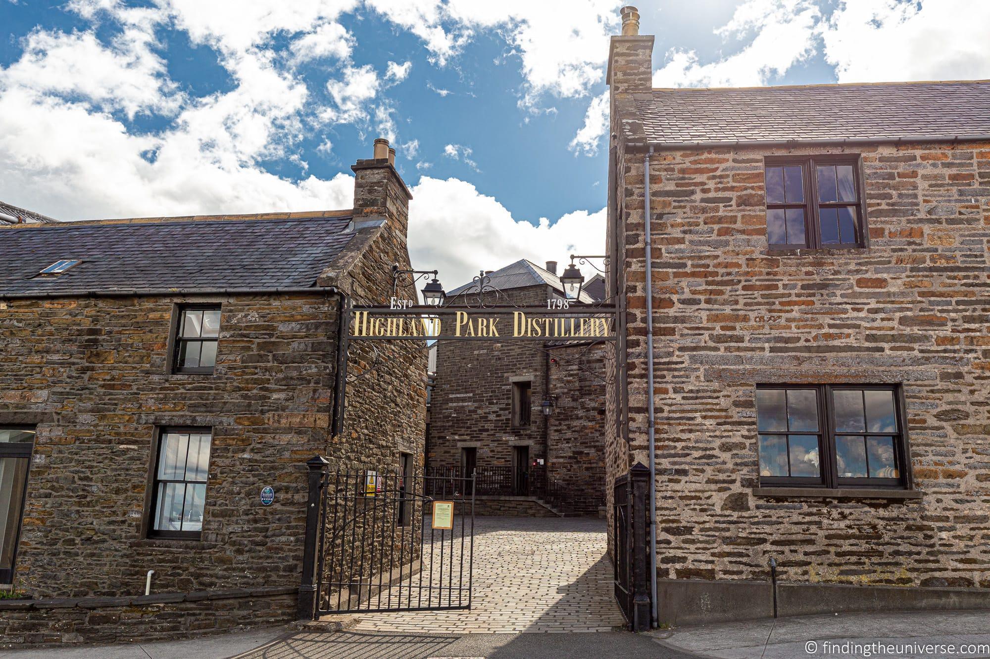 HIghland Park Whisky Distillery