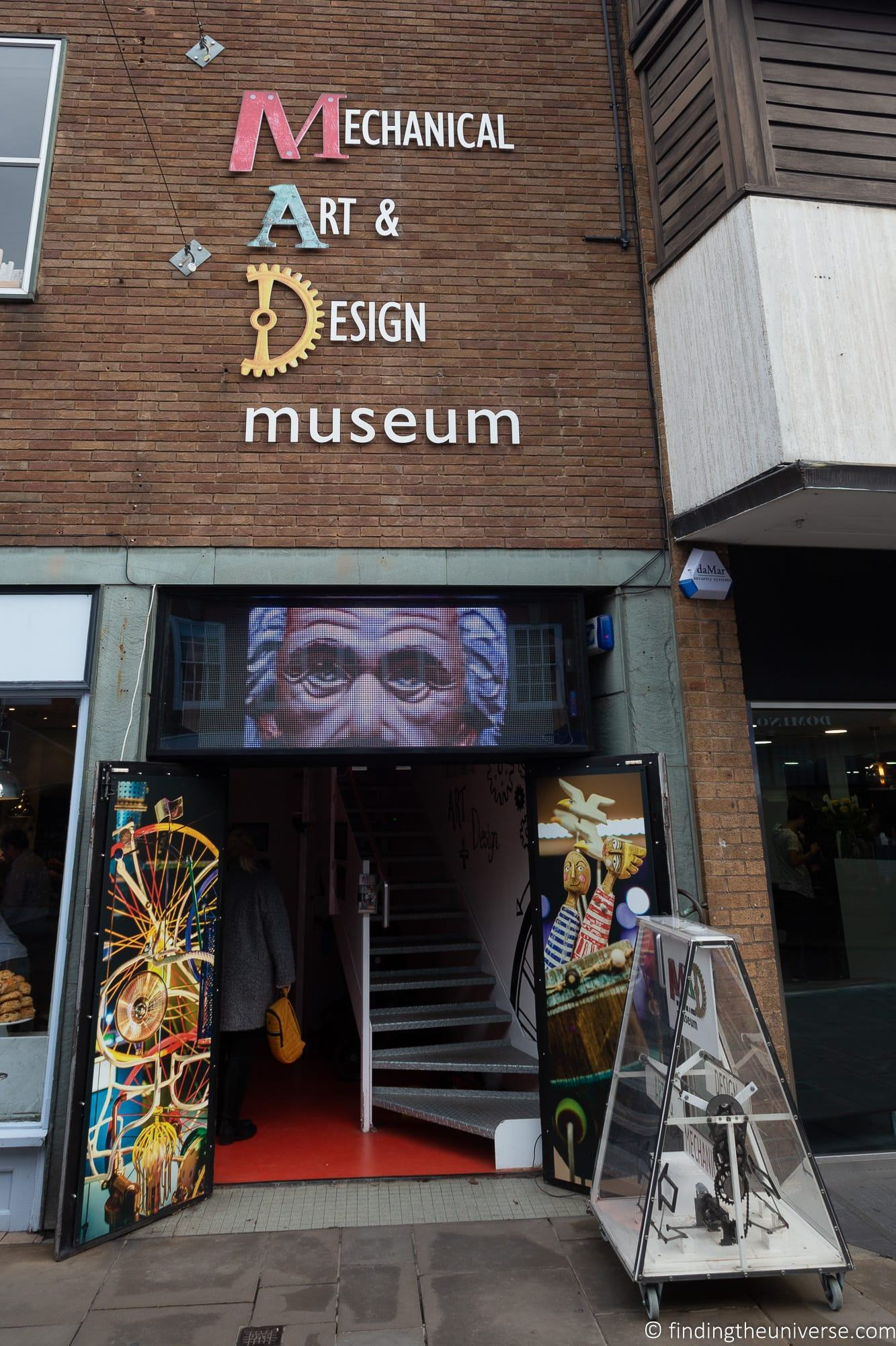 Mechanical Art and Design museum