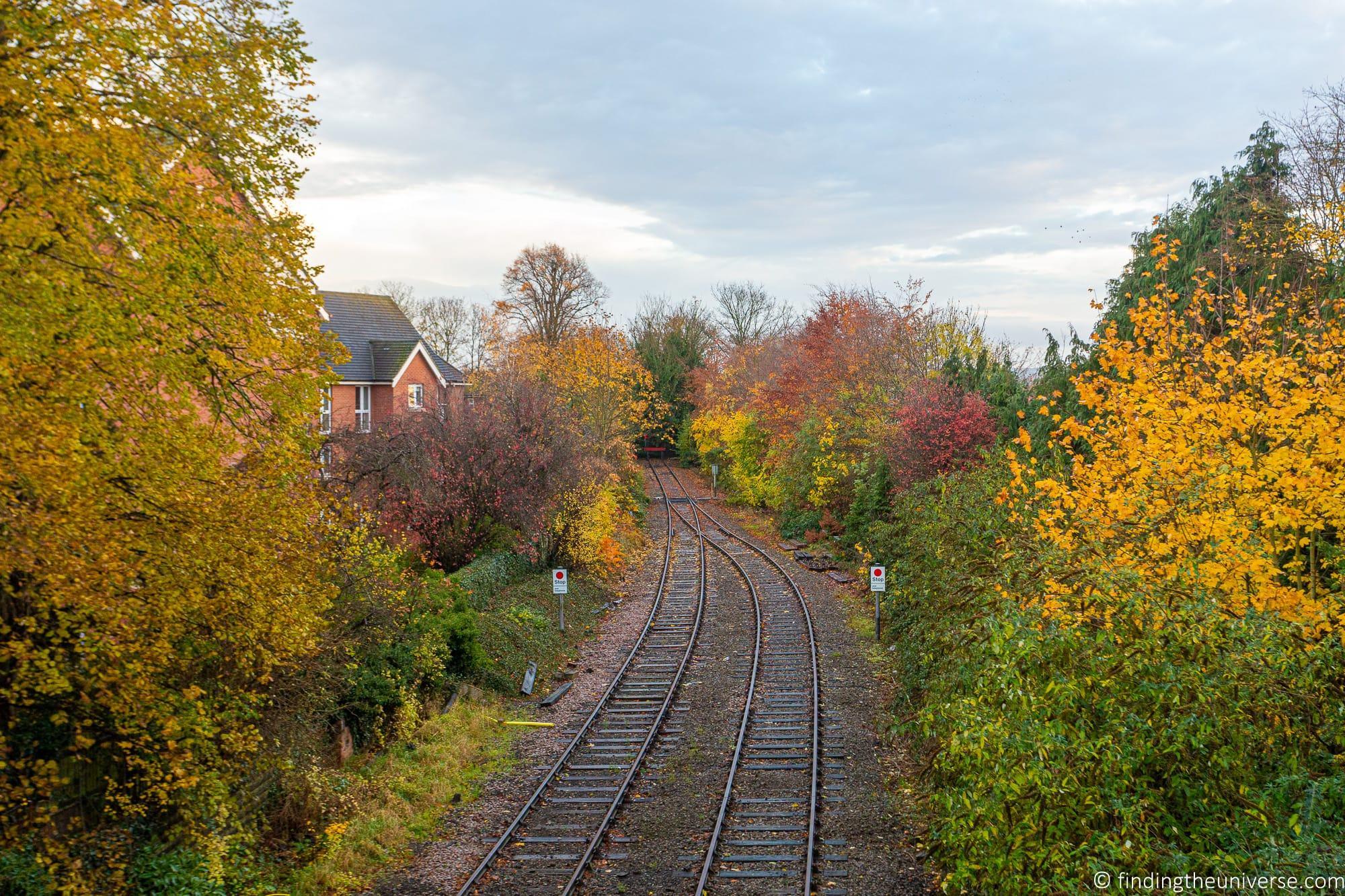 Railway line Stratford-Upon-Avon