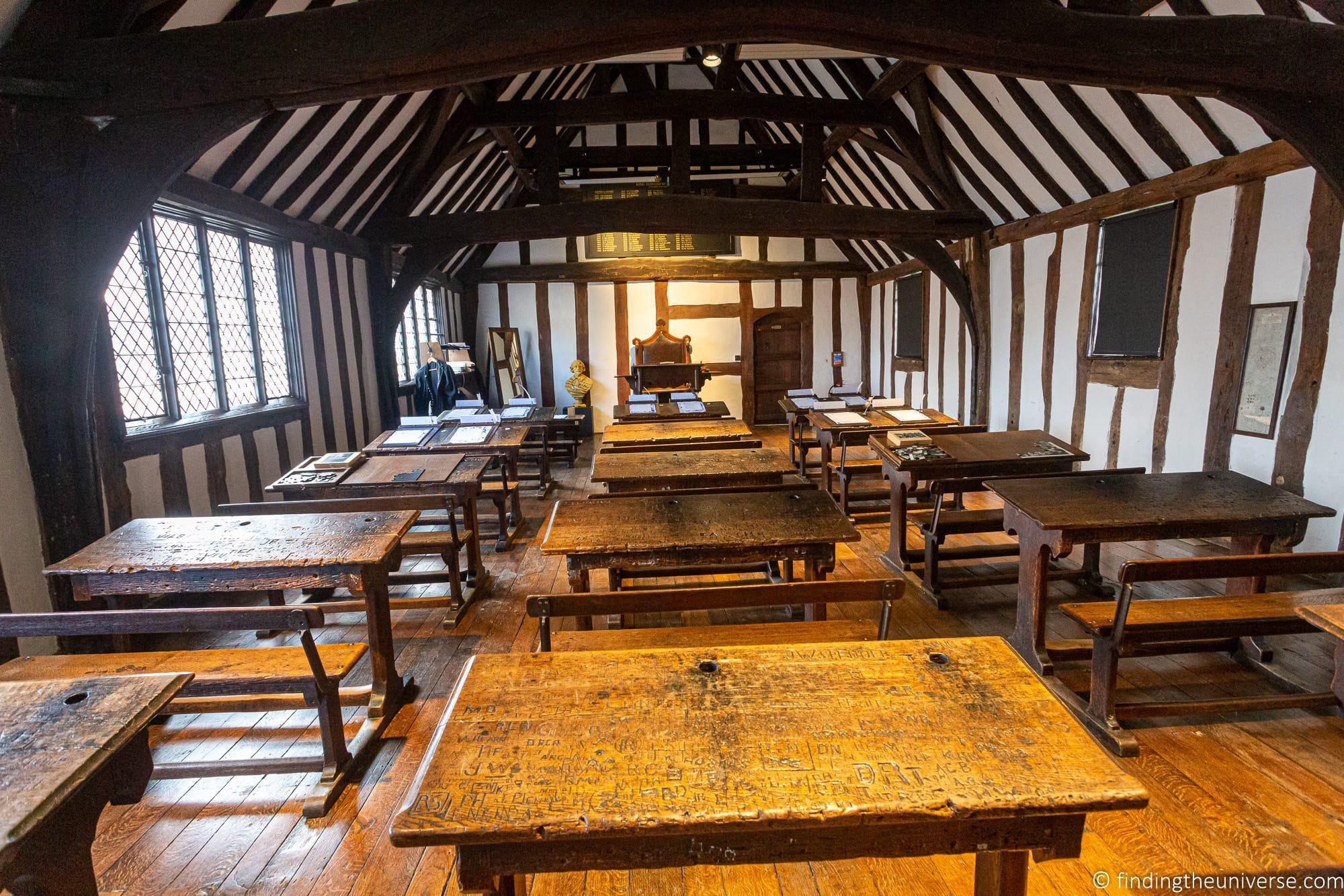 Shakespeare's Schoolroom & Guildhall Stratford-Upon-Avon