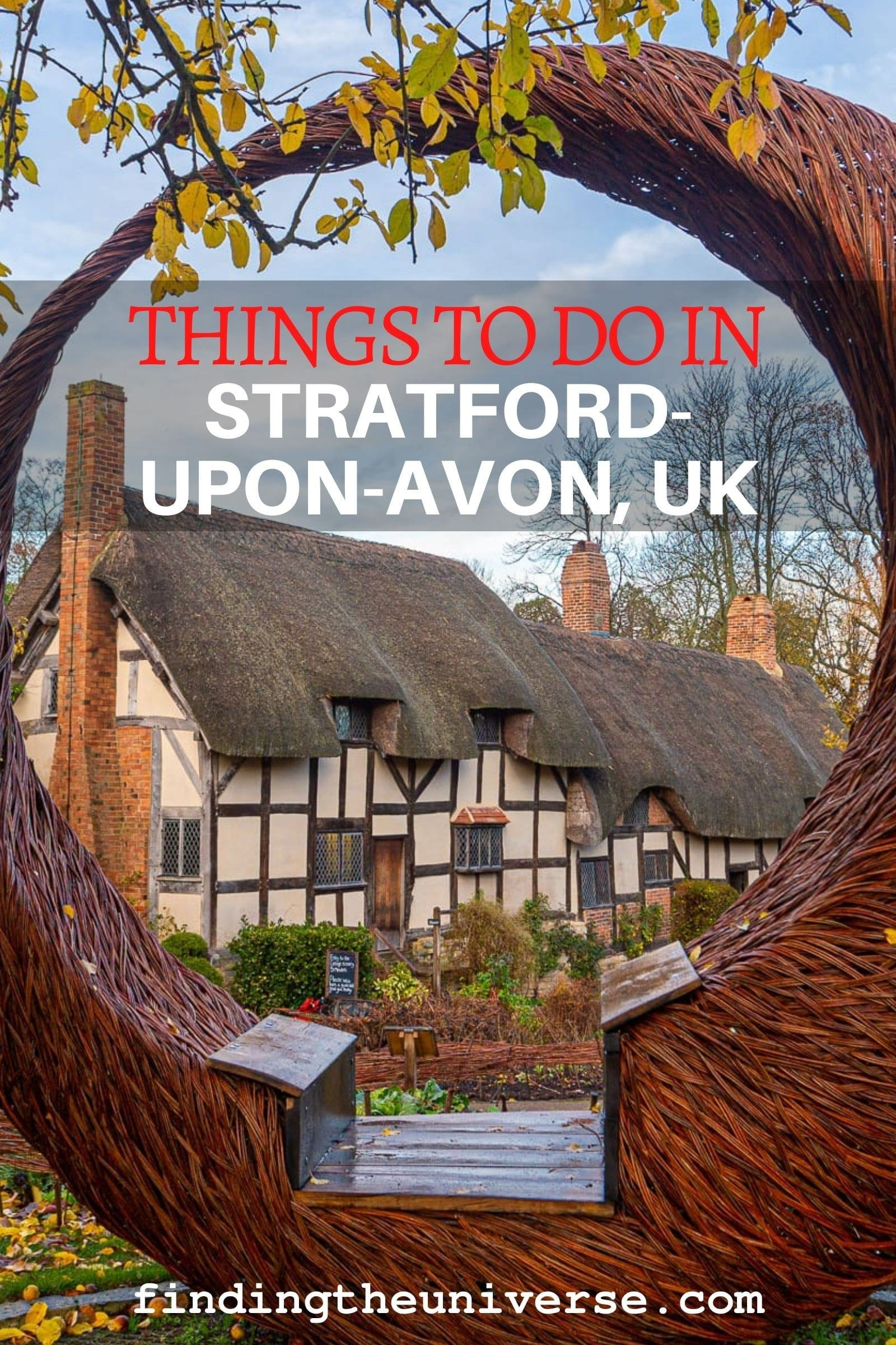 A detailed guide to things to do in Stratford-upon-avon. All the Shakespeare sights, plus many more attractions and tips for your visit!