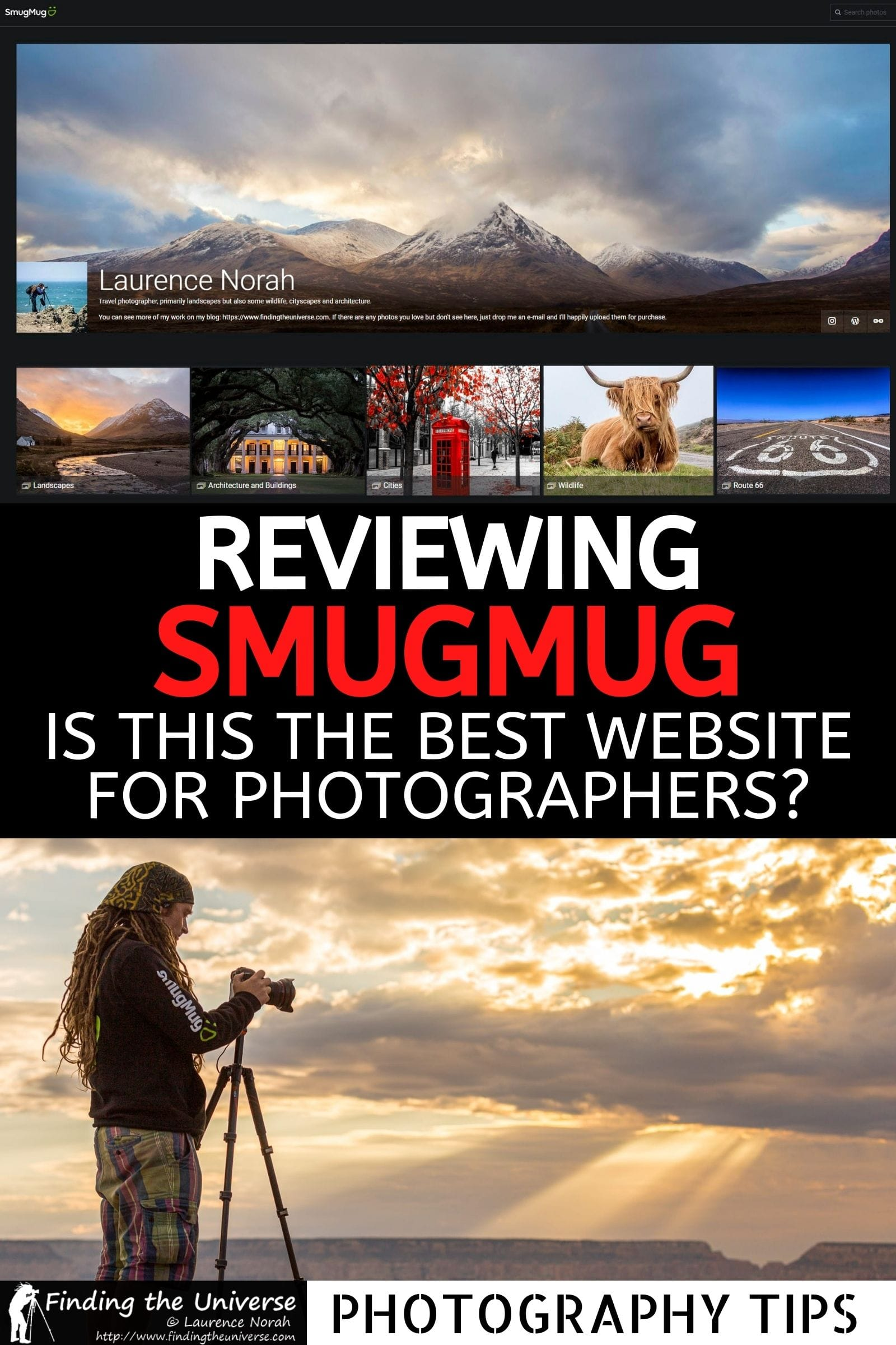 Want a website to host + sell your images? This SmugMug review covers everything you need to know, and includes a SmugMug discount code!