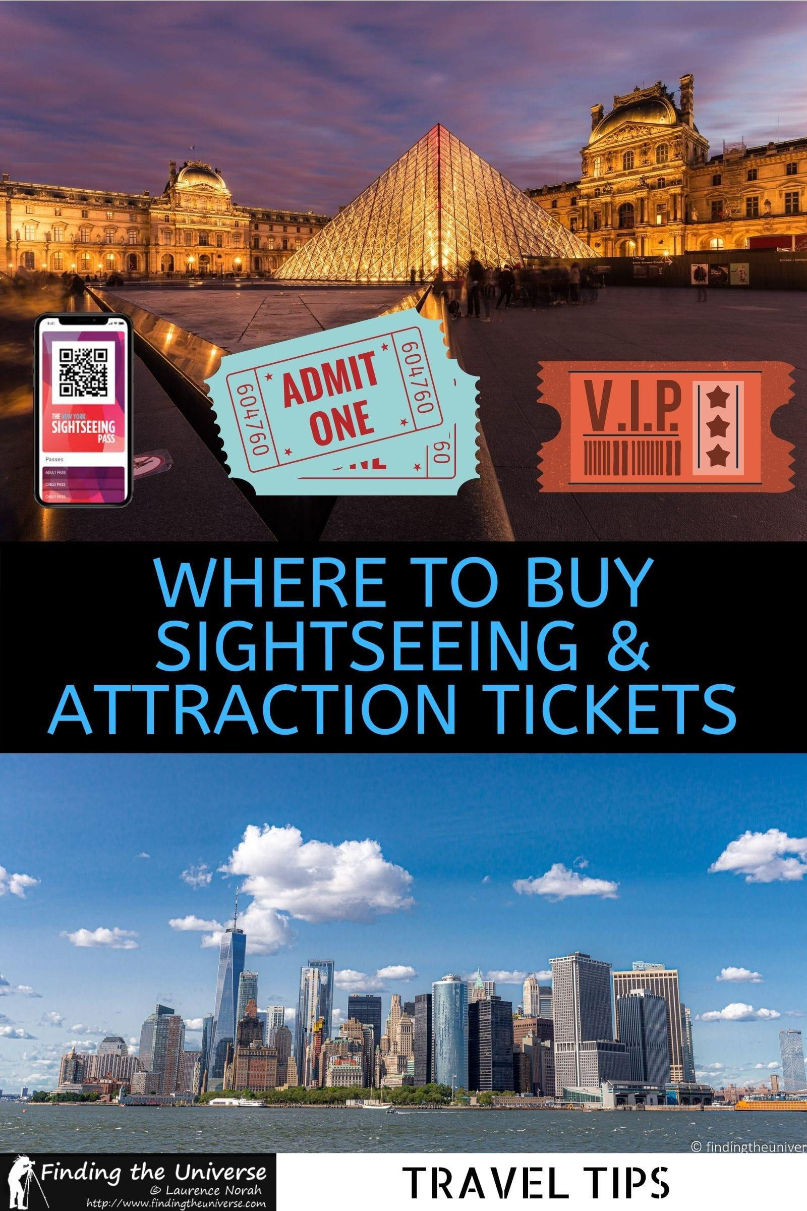 Where to Buy Sightseeing & Attraction Tickets Online