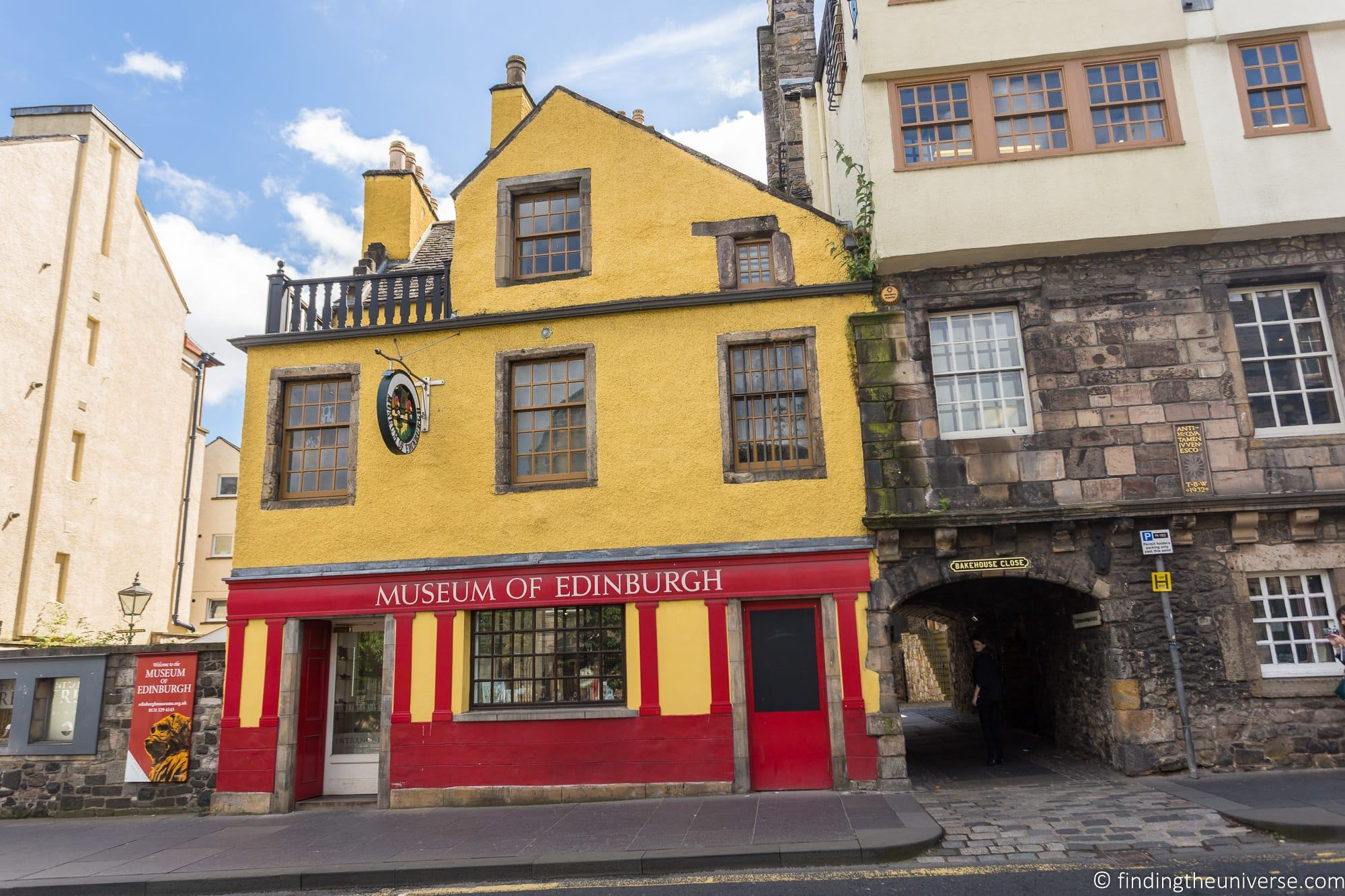 Outlander Filming Location – Backhouse Close