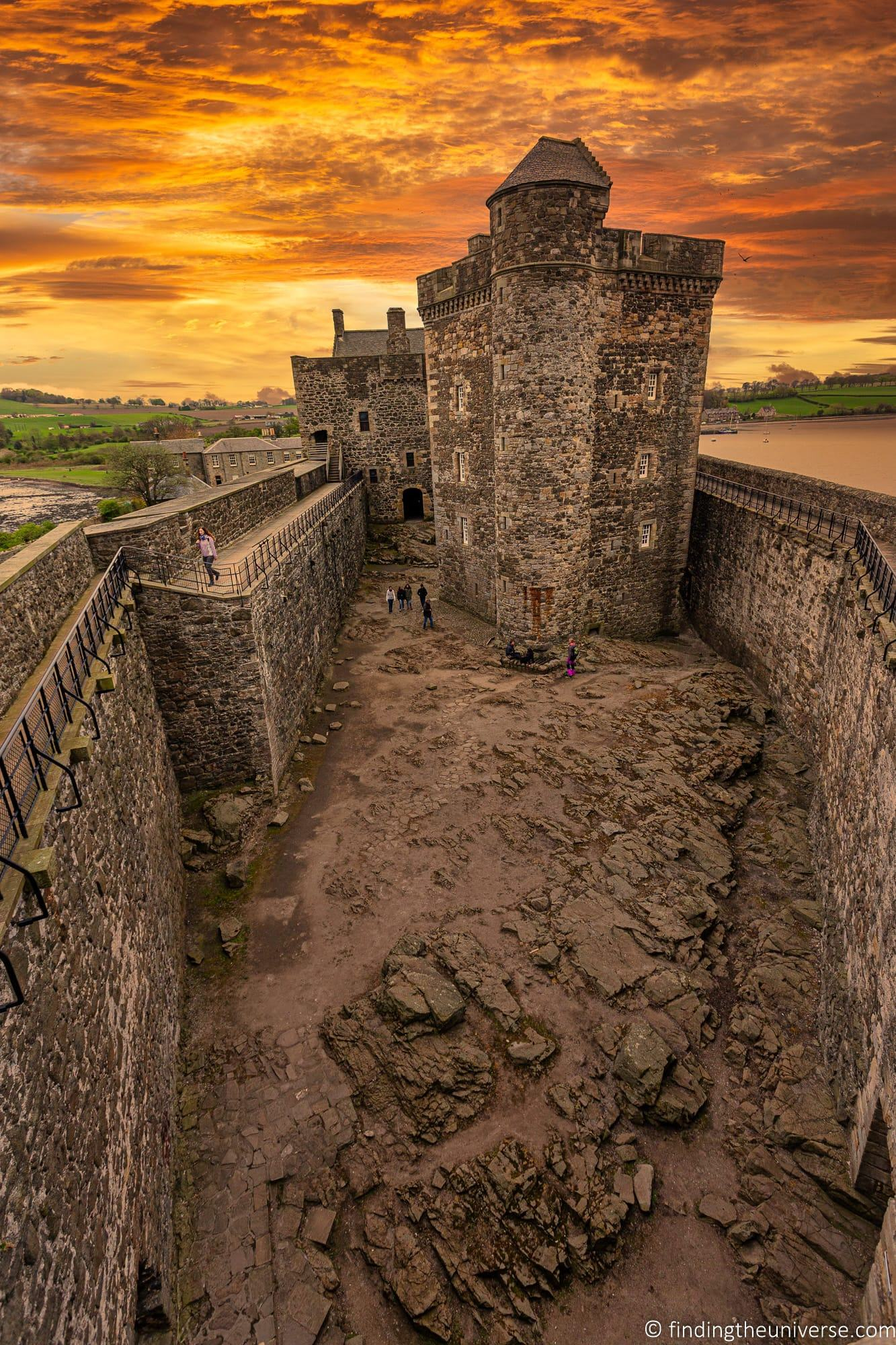 Outlander Filming Location - Blackness Castle