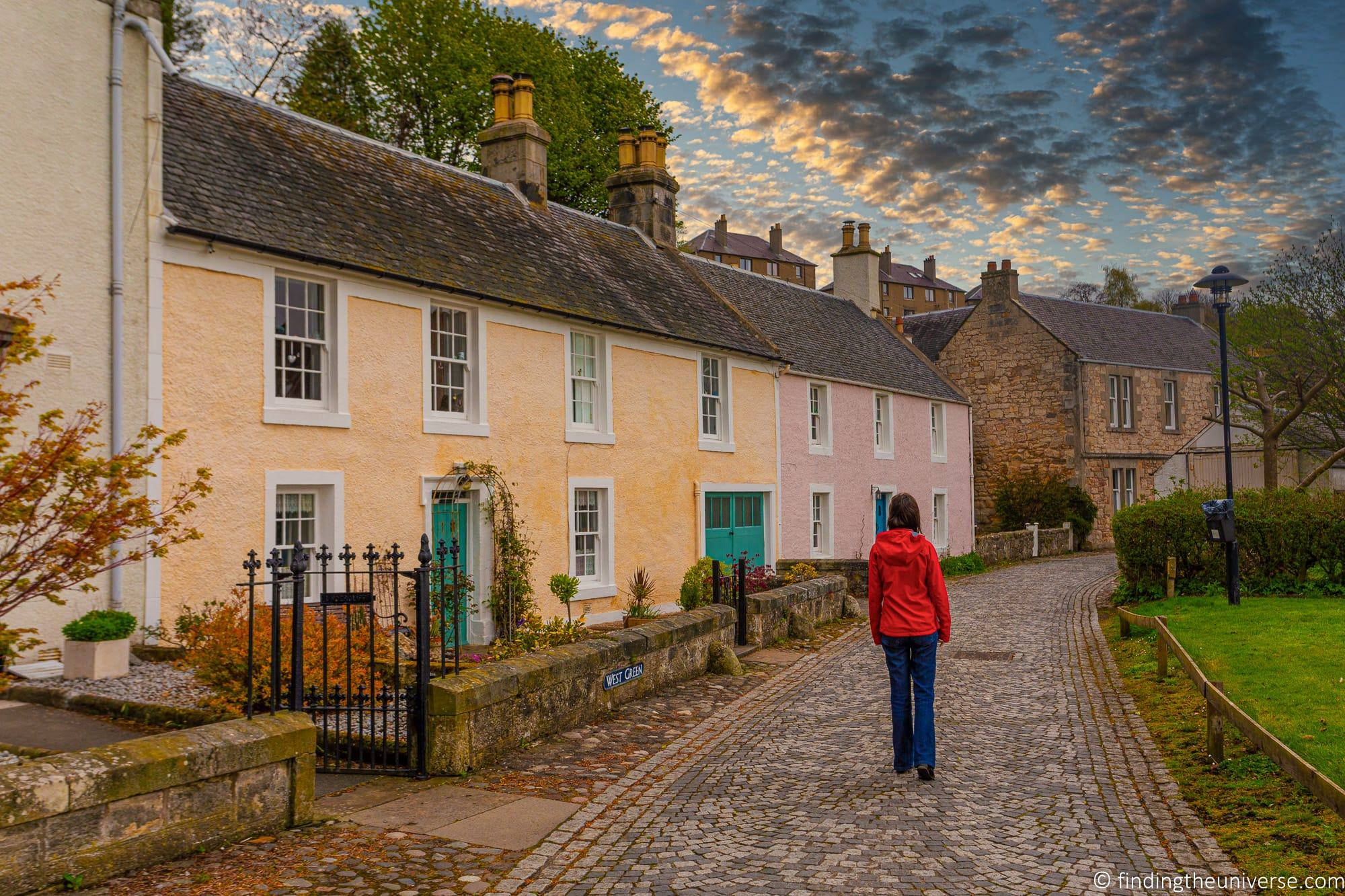 Outlander Filming Location - Culross