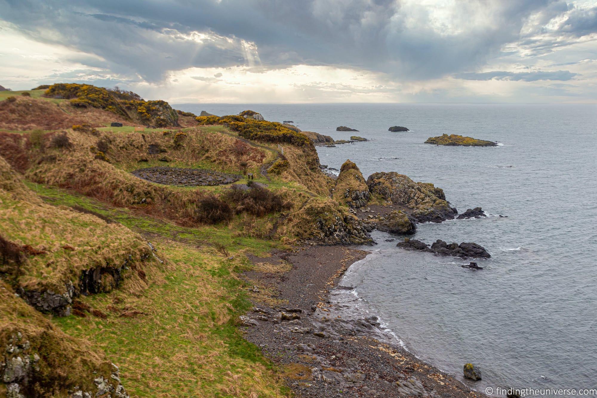Outlander Filming Location – Dunure Beach